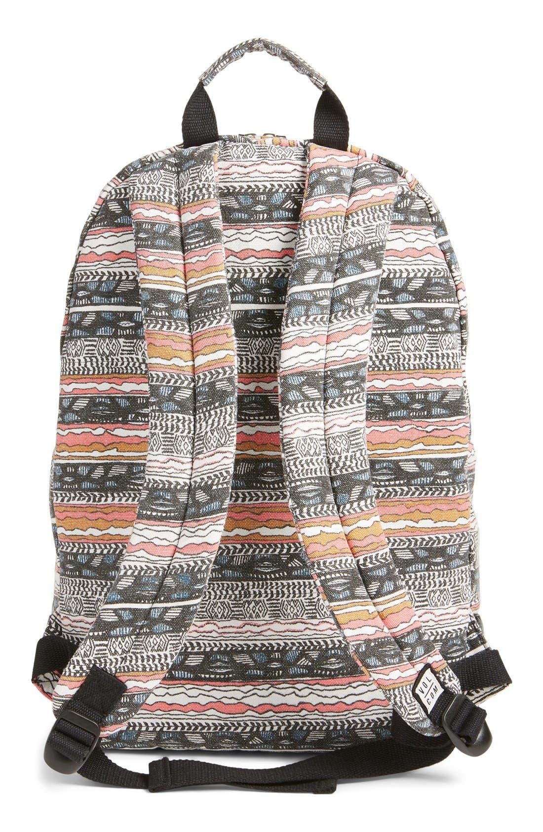 Alternate Image 3  - Volcom 'Schoolyard' Canvas Backpack