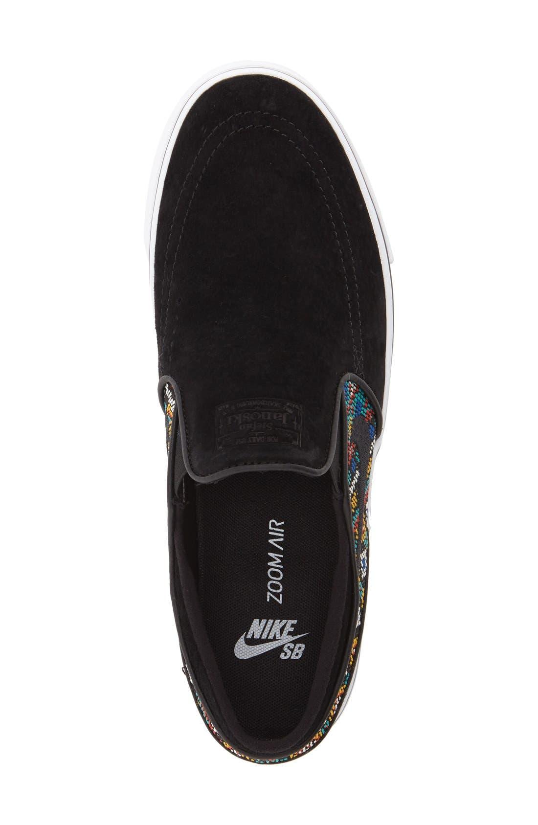 Alternate Image 3  - Nike SB 'Zoom Air Stefan Janoski Elite' Slip-On Sneaker (Men)