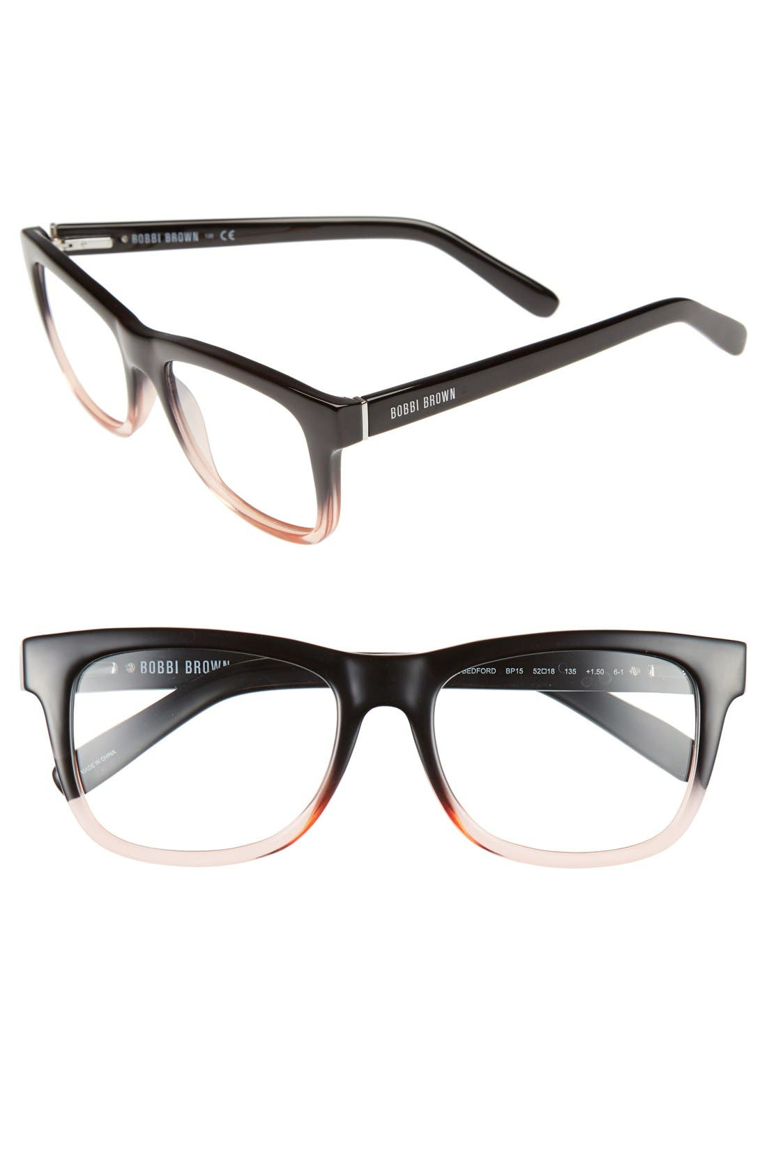 BOBBI BROWN 'The Bedford' 52mm Reading Glasses