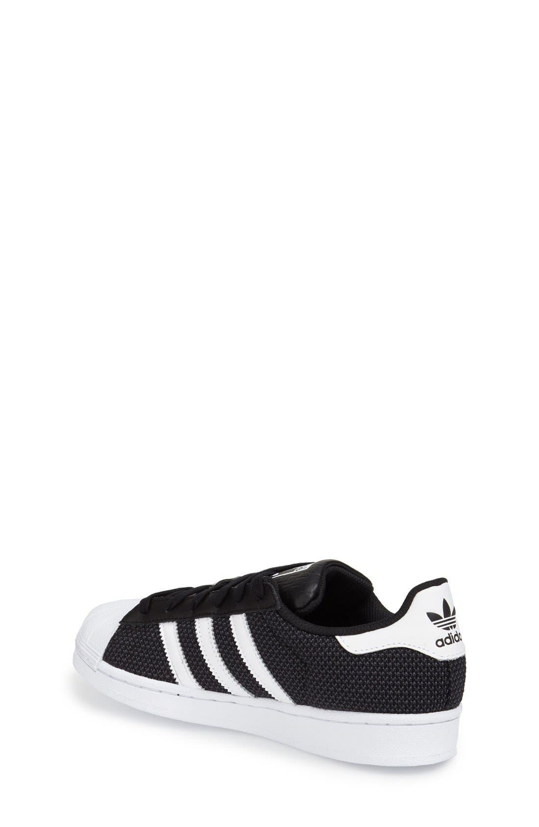 Alternate Image 2  - adidas 'Superstar' Sneaker (Big Kid)