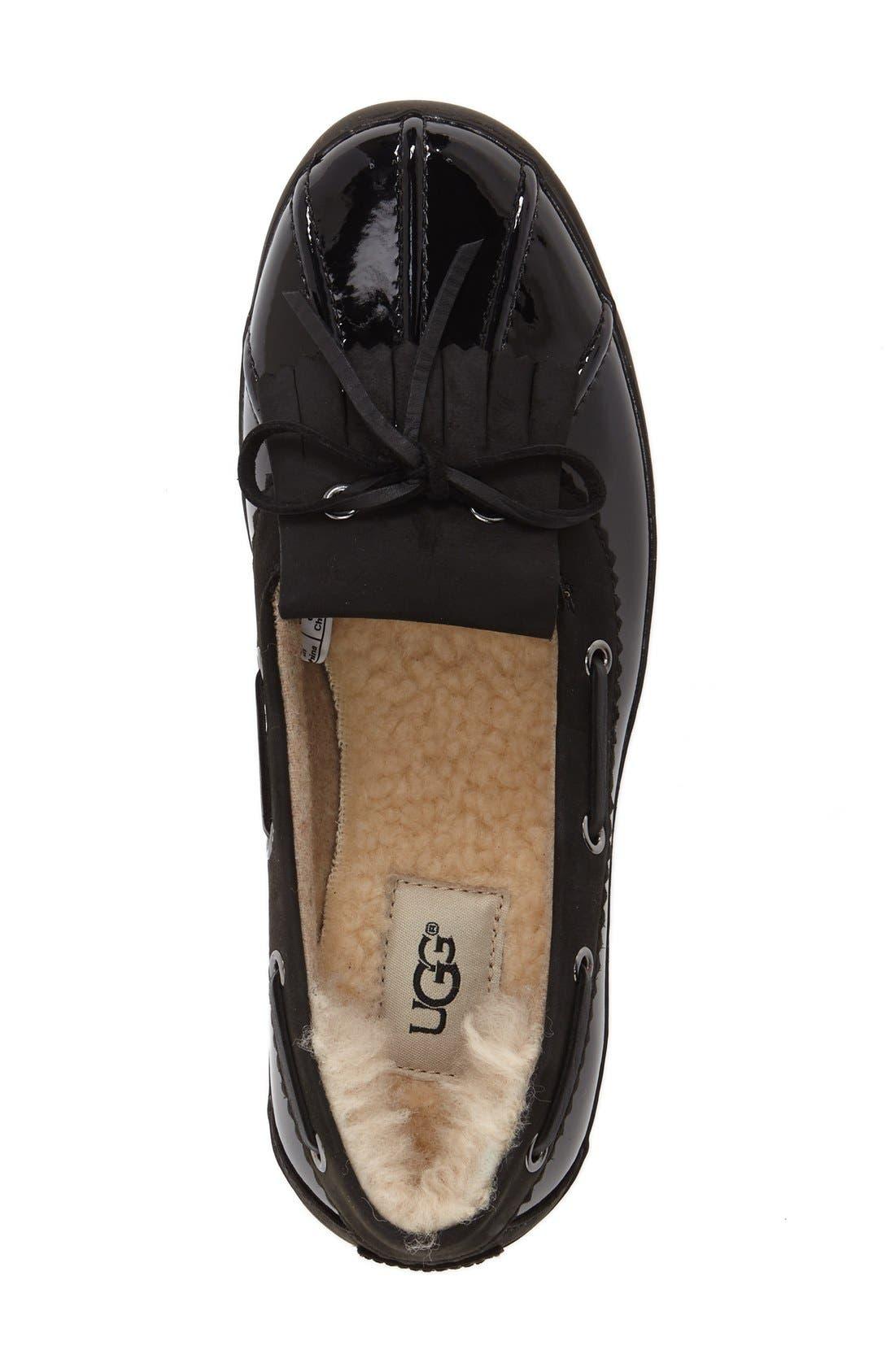 Alternate Image 3  - UGG® Haylie Waterproof Loafer (Women)