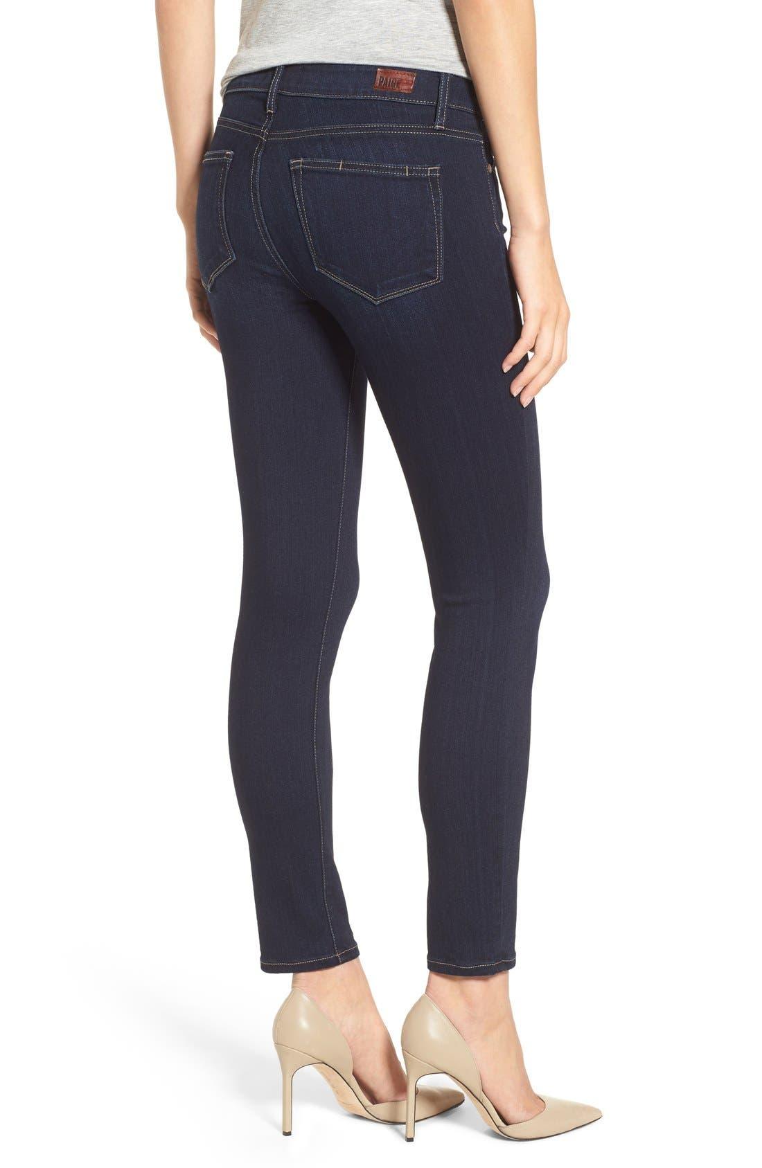 Alternate Image 3  - PAIGE 'Transcend - Verdugo' Ankle Skinny Jeans (Tari)
