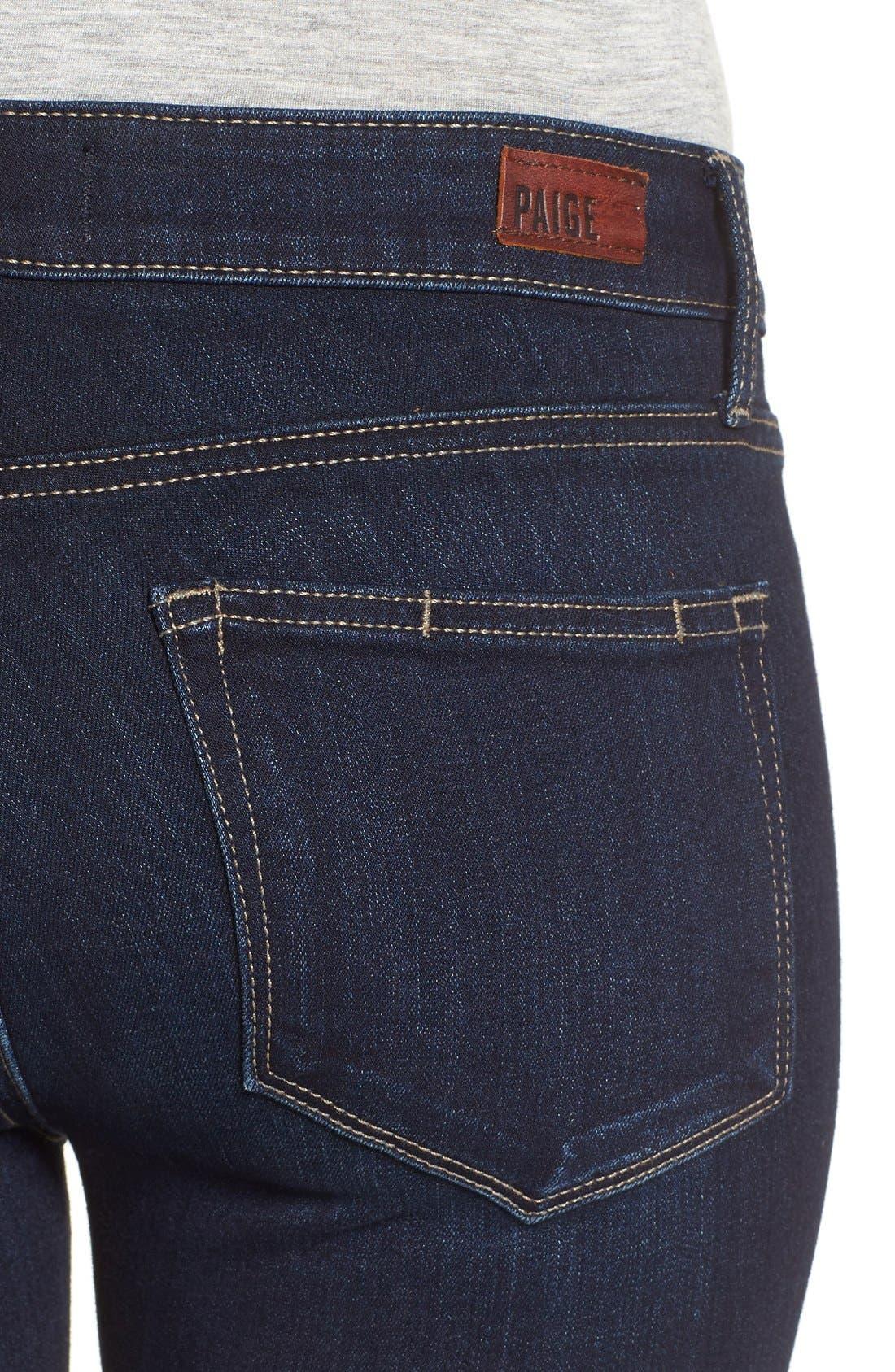 Alternate Image 5  - PAIGE 'Transcend - Verdugo' Ankle Skinny Jeans (Tari)