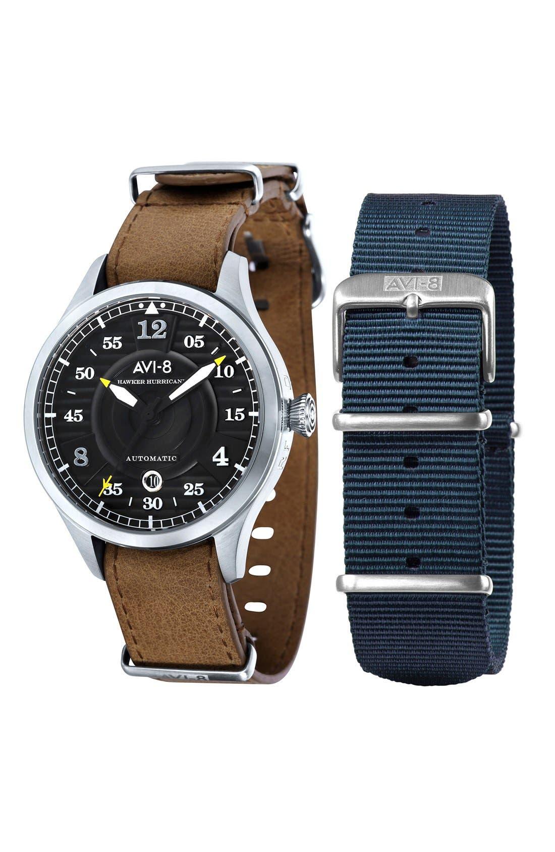 AVI-8 'Hawker Hurricane' Automatic Watch, 43mm
