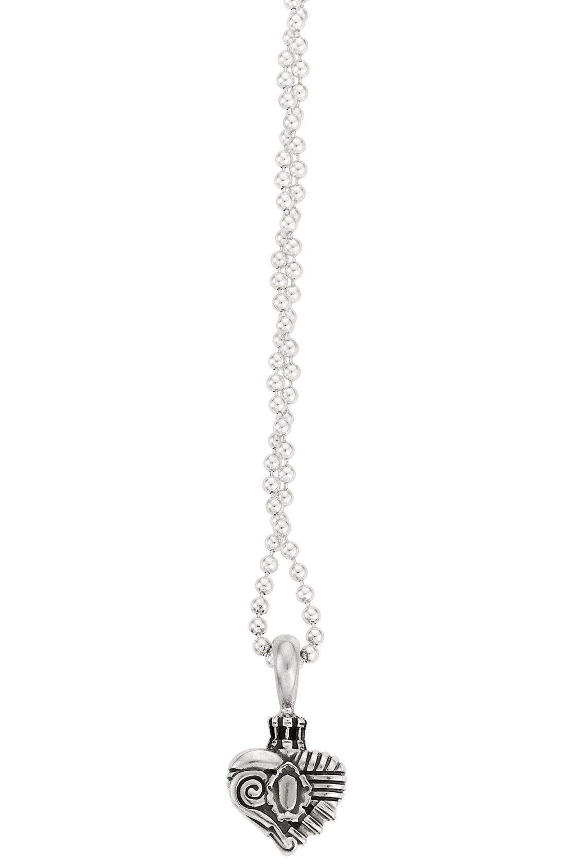 Alternate Image 2  - Lagos 'Hearts of Lagos - Beverly Hills' Long Pendant Necklace (Online Only)