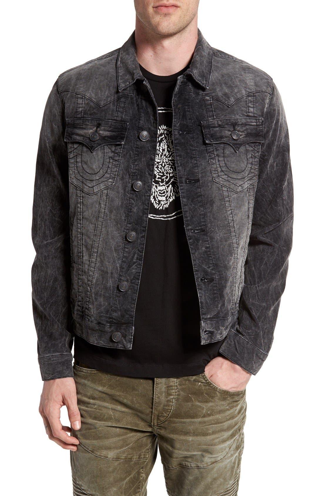 Alternate Image 1 Selected - True Religion Brand Jeans 'Jimmy' Corduroy Western Jacket