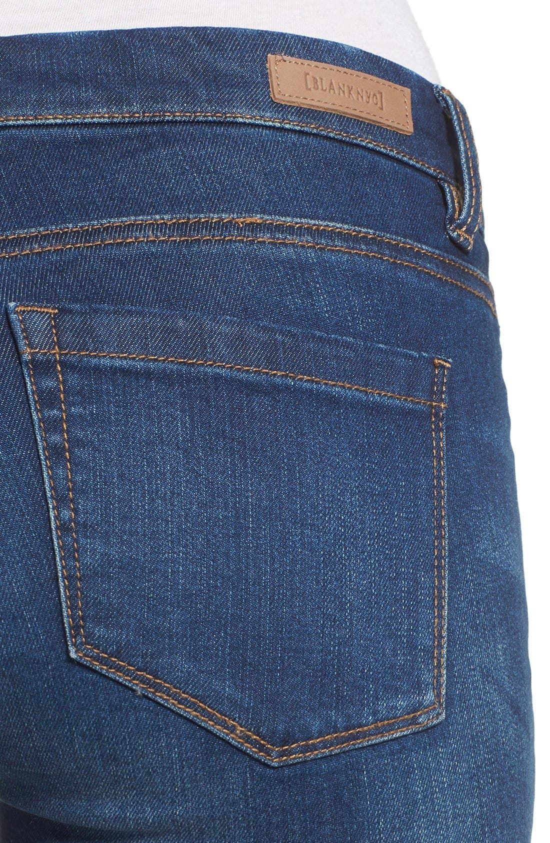 Alternate Image 4  - BLANKNYC Utility Skinny Jeans (Buffering)