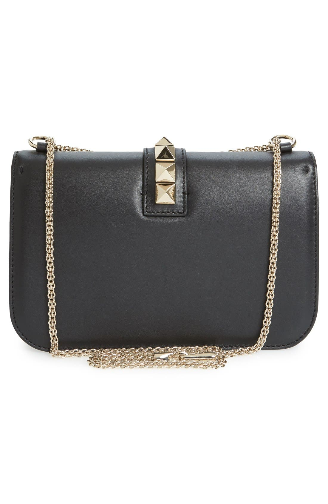 Alternate Image 3  - Valentino 'Medium Lock' Studded Leather Shoulder Bag
