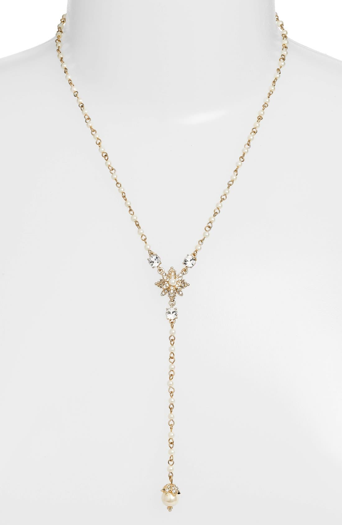 Alternate Image 1 Selected - Marchesa Long Y-Necklace