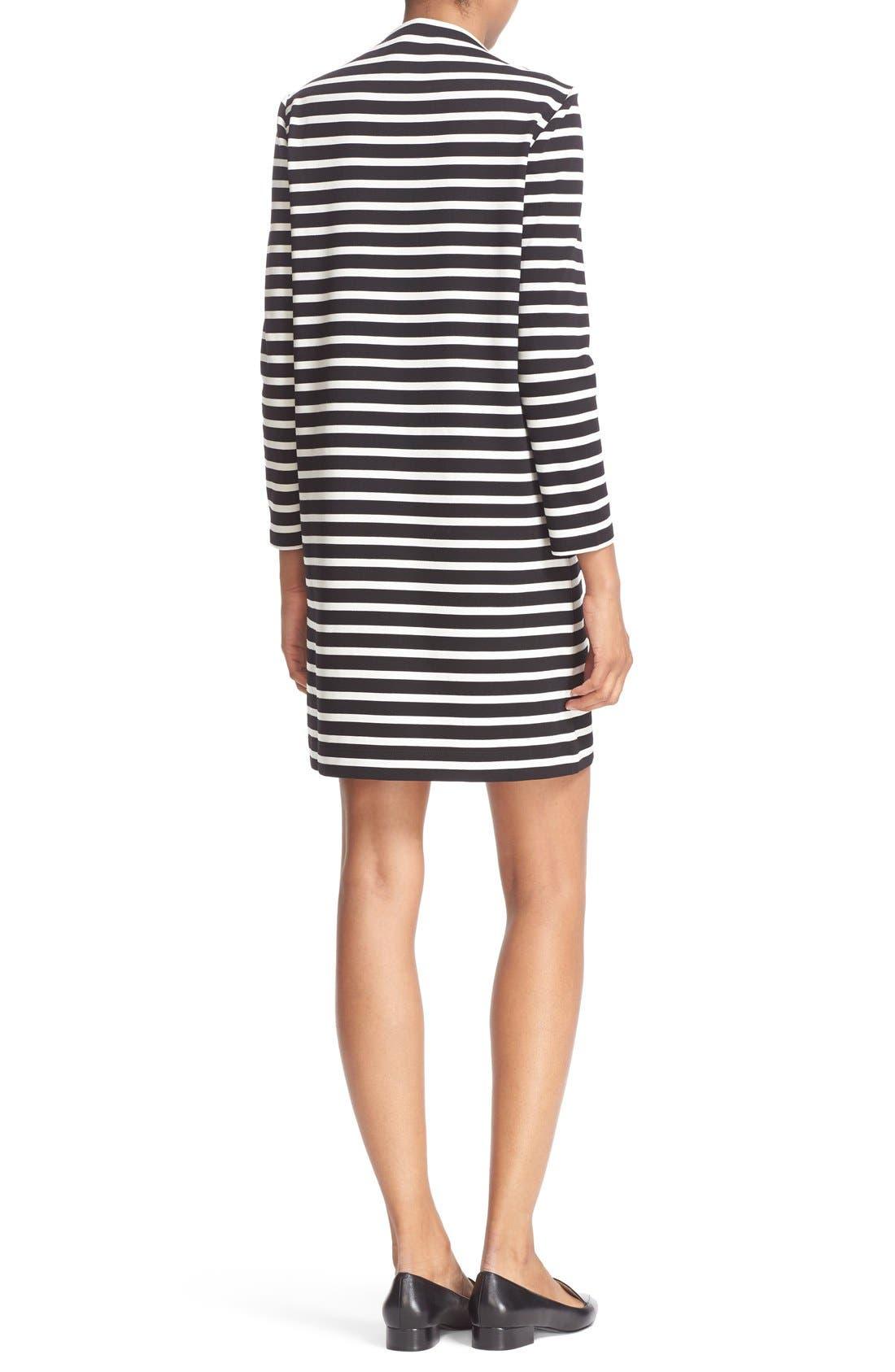 Alternate Image 2  - kate spade new york 'everyday' stripe patch pocket shift dress