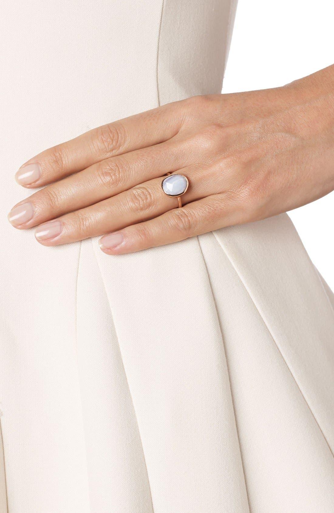 Alternate Image 2  - Monica Vinader 'Siren' Medium Semiprecious Stone Stacking Ring