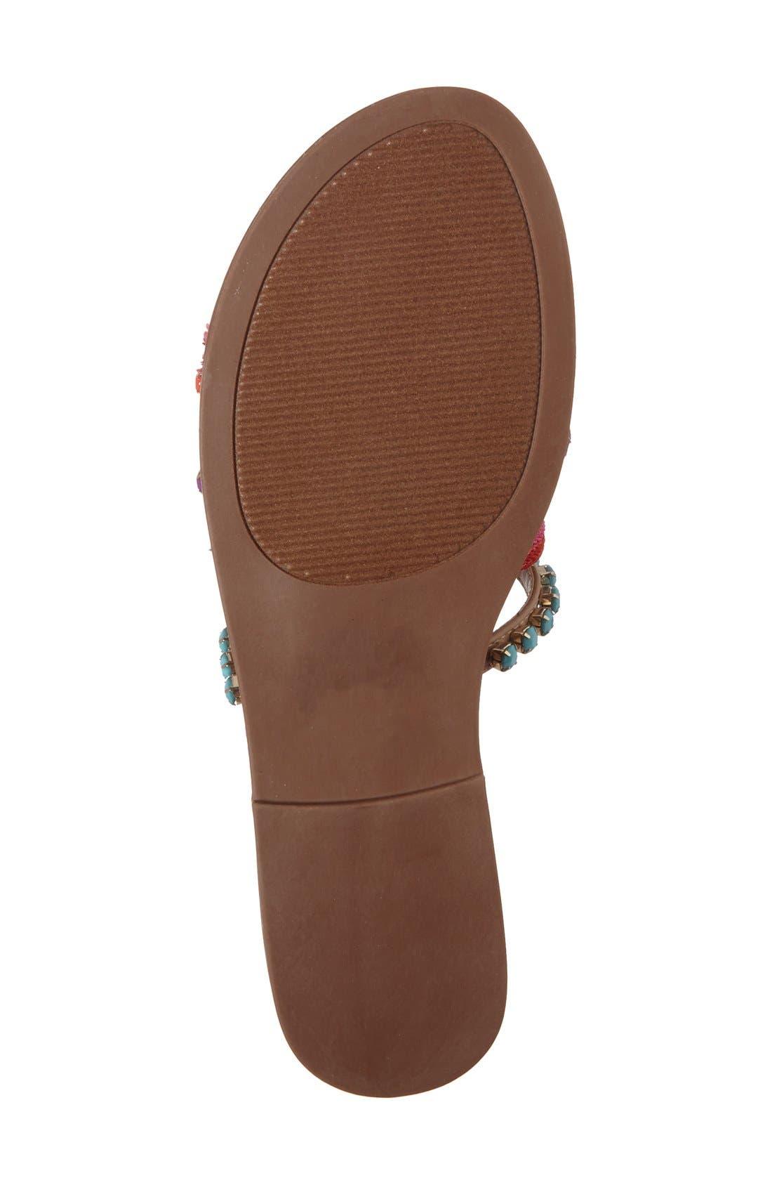 Alternate Image 4  - Steve Madden Multicolor Slide Sandal (Women)