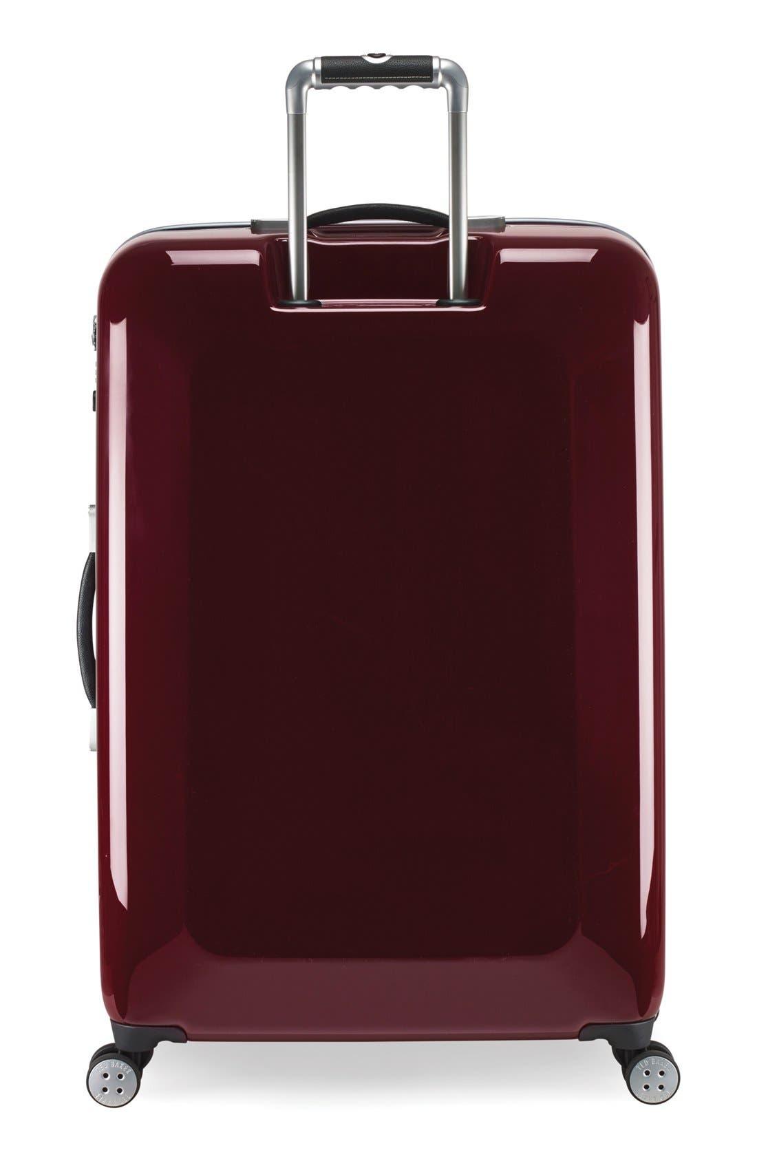 Alternate Image 2  - Ted Baker London 'Large Burgundy' Four Wheel Suitcase (31 Inch)