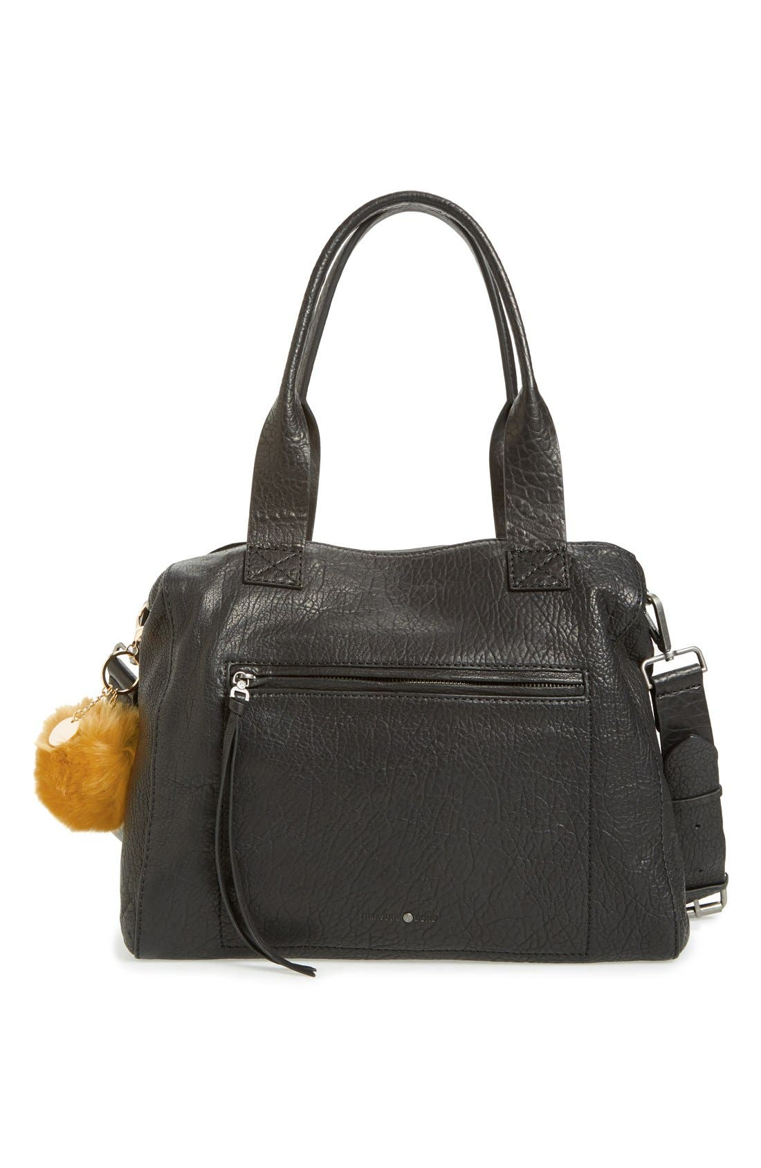 Alternate Image 2  - Topshop Faux Fur Fluffy Bag Charm