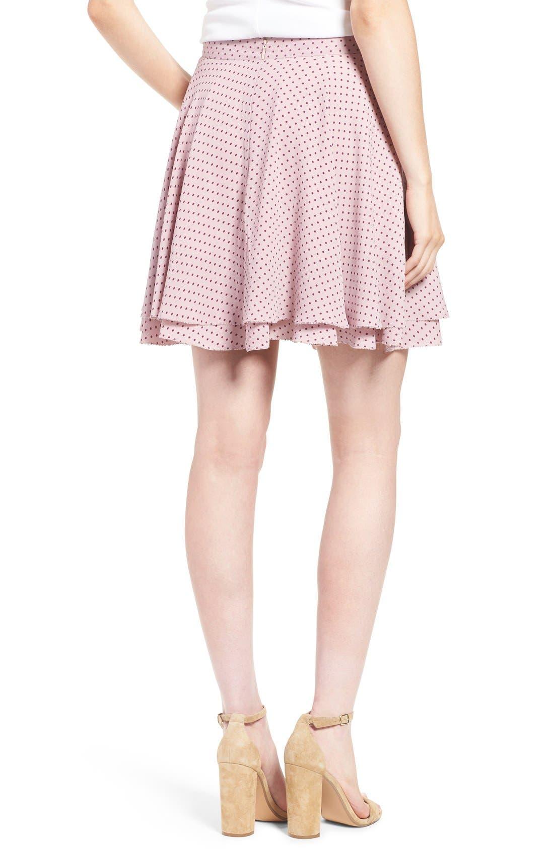 Alternate Image 2  - Rebecca Minkoff 'Bellamar' Polka Dot Miniskirt