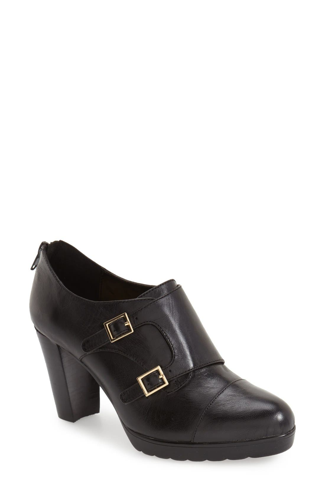 Bella Vita 'Zia' Double Monk Strap Pump (Women)