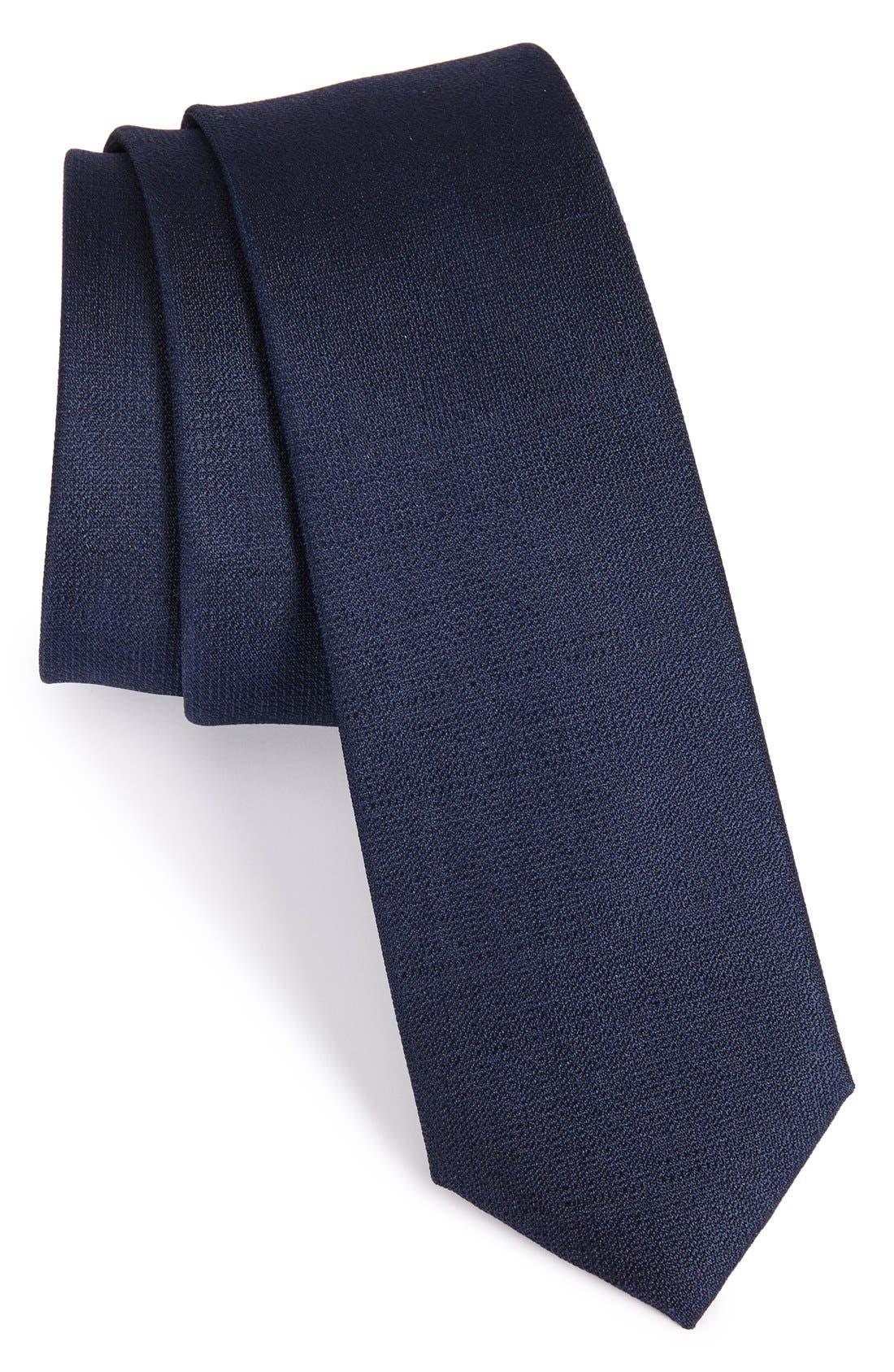 CALIBRATE Solid Silk Tie