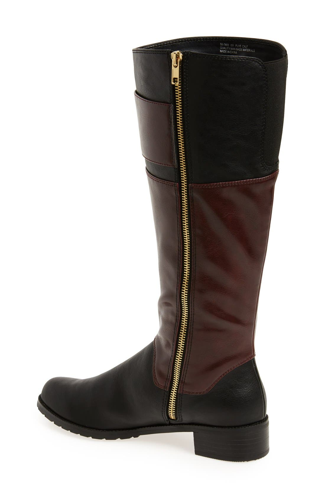 Alternate Image 2  - Bella Vita 'Adriann II' Knee High Boot (Women) (Wide Calf)