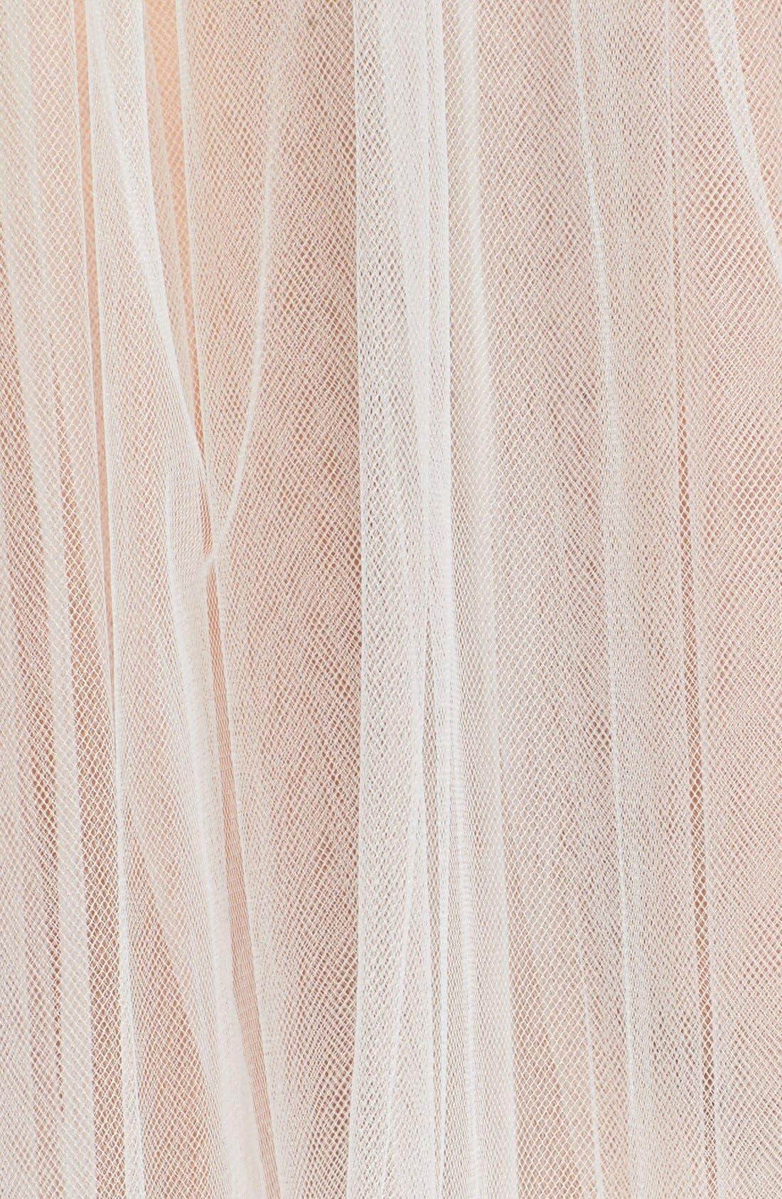 Alternate Image 4  - Toni Federici 'Sugar Pie' Embellished Hair Comb with Waltz Length Veil