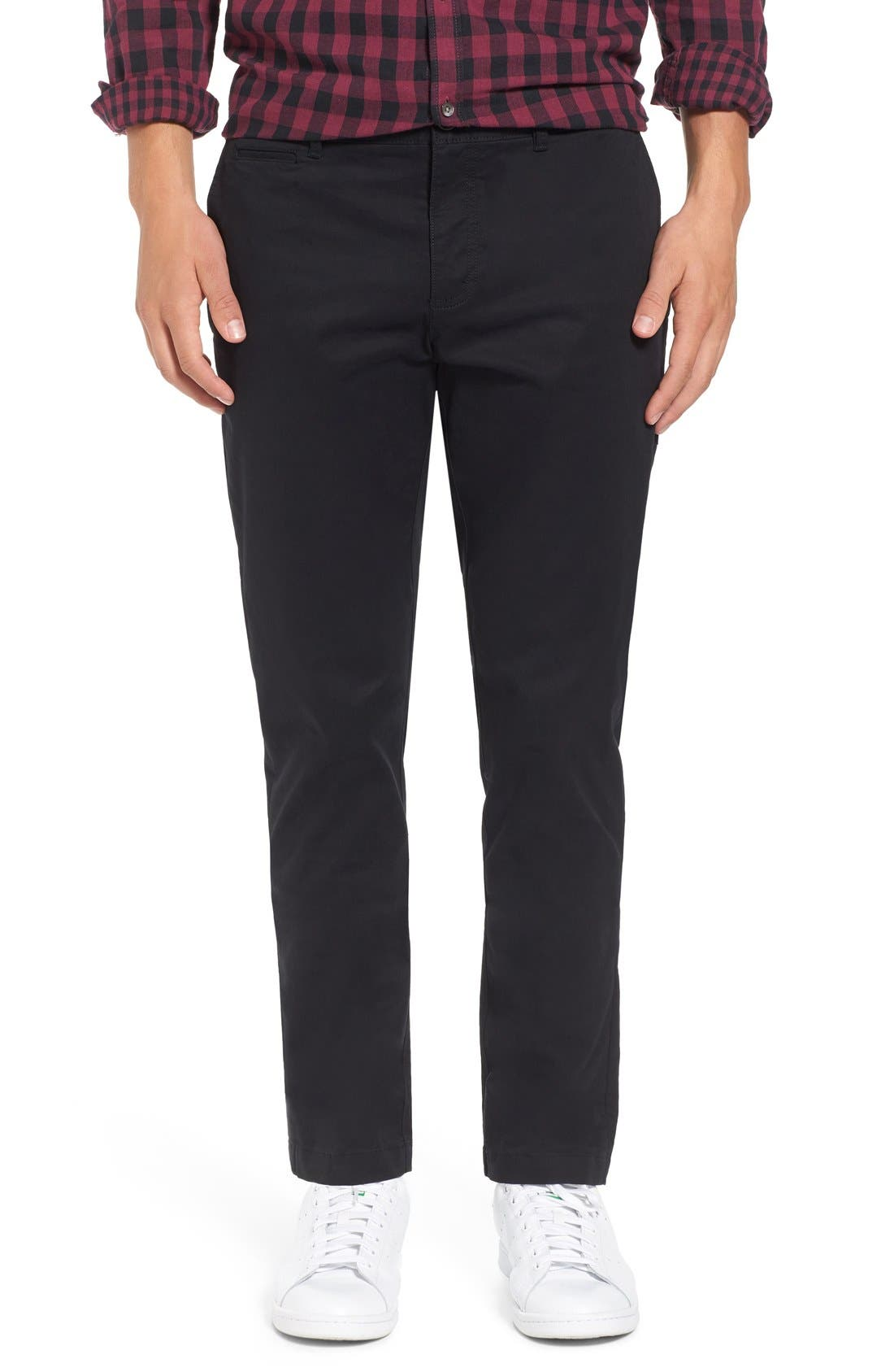 ORIGINAL PENGUIN 'P55' Slim Fit Stretch Cotton Chinos