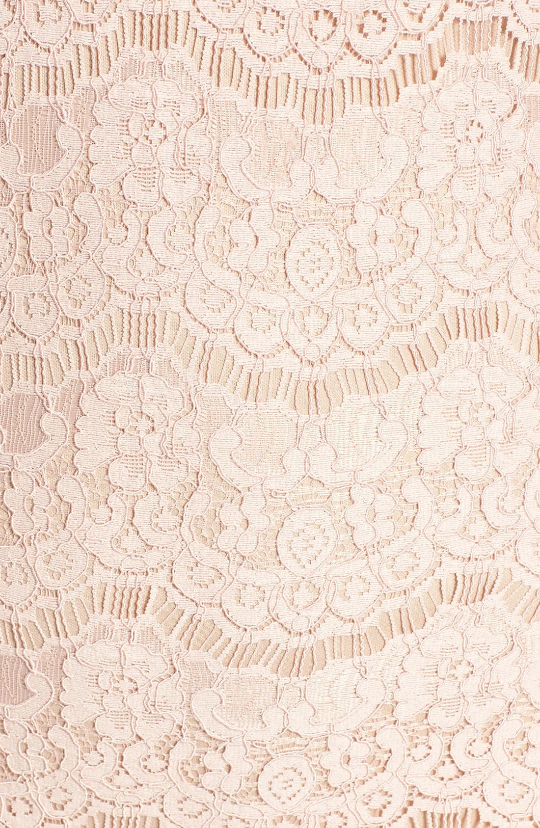 Alternate Image 5  - Love, Fire Cutout Lace Body-Con Dress