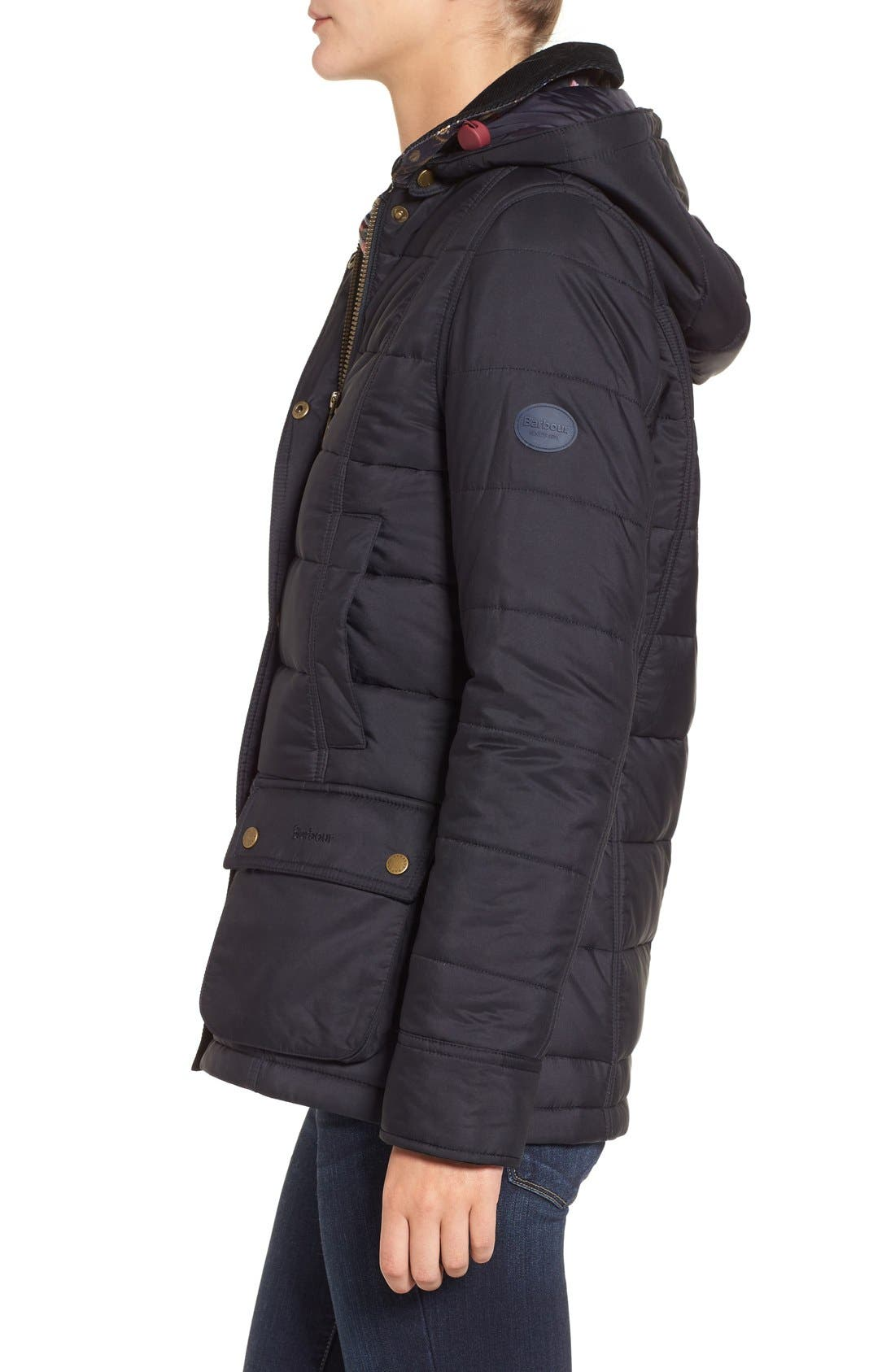 Alternate Image 3  - Barbour 'Ilkley' Water Resistant Quilted Jacket