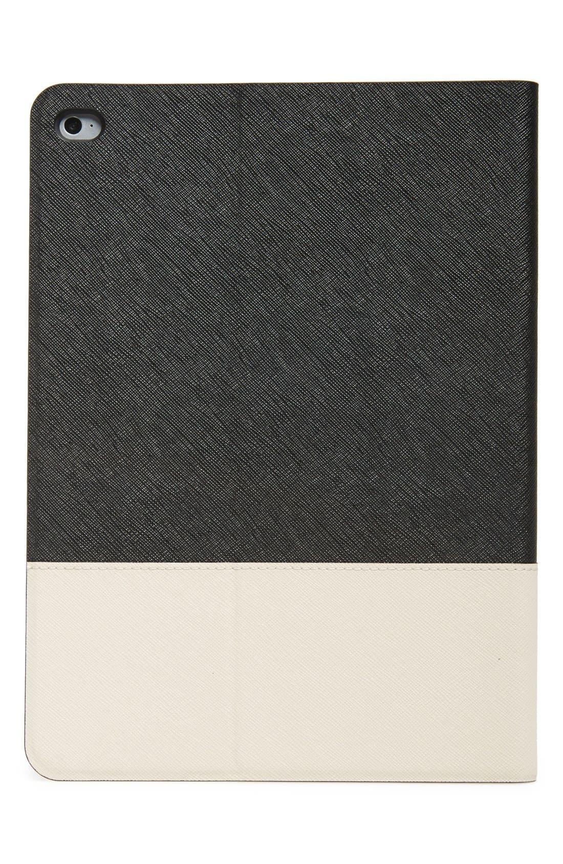 Alternate Image 2  - kate spade new york colorblock leather iPad Air 2 folio