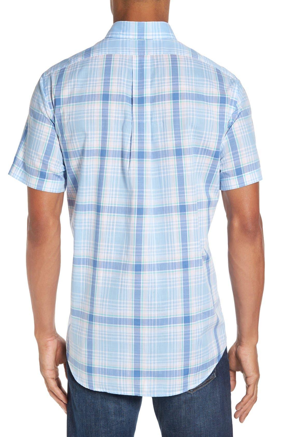 Alternate Image 2  - Vineyard Vines 'Hamblin - Tucker' Regular Fit Plaid Sport Shirt