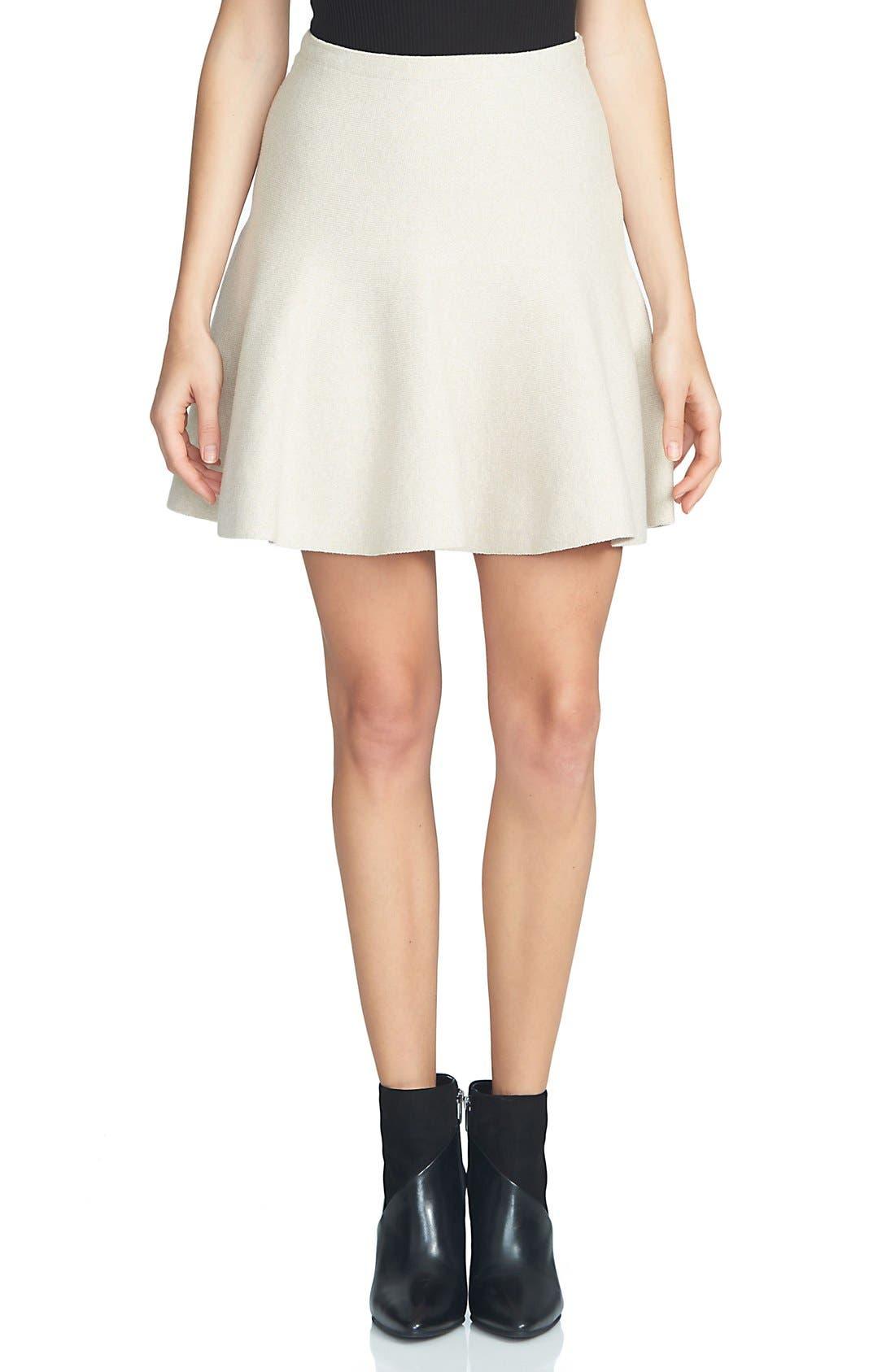 Alternate Image 1 Selected - 1.STATE Flounce Hem Miniskirt