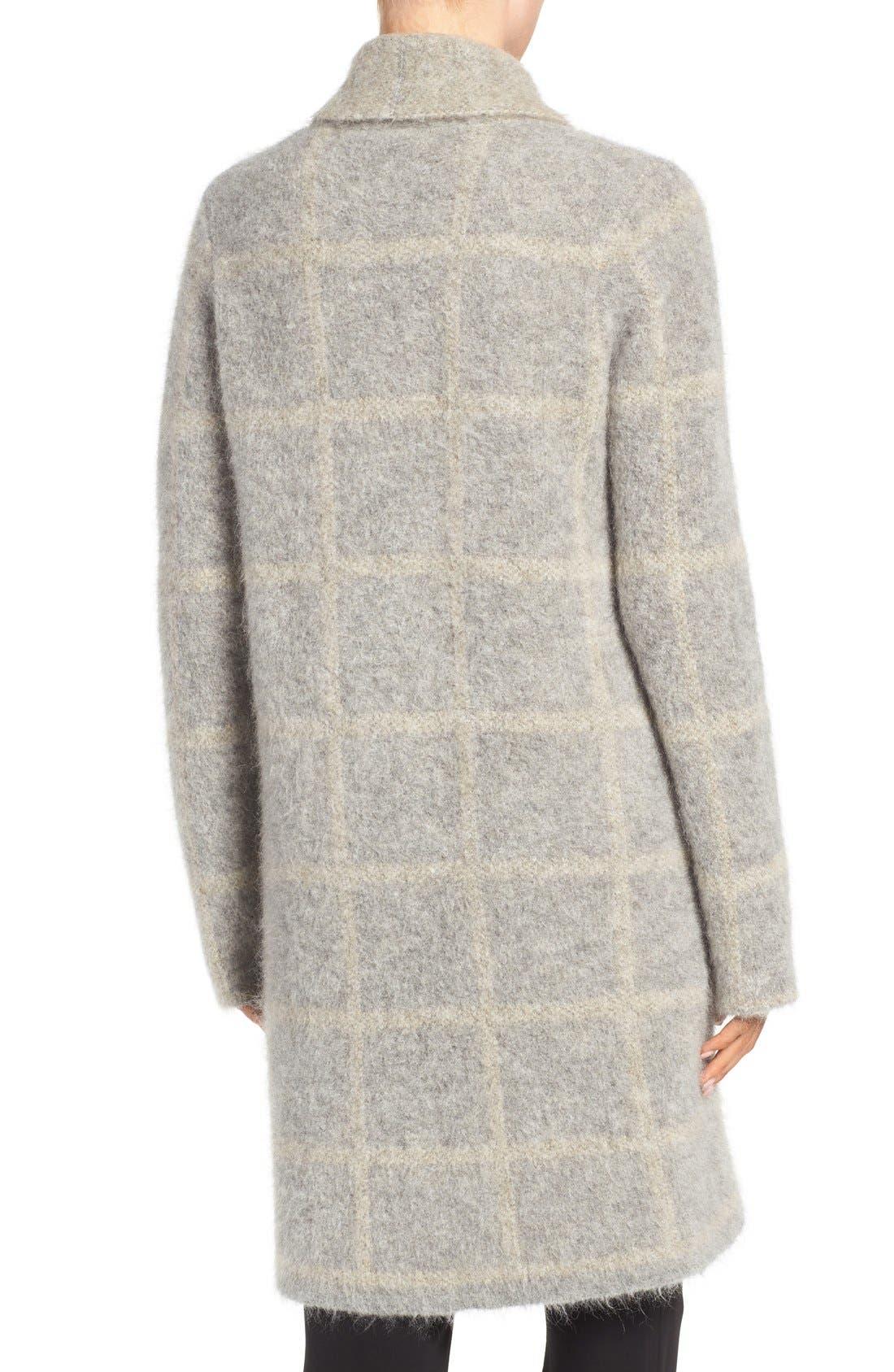 Alternate Image 2  - Eileen Fisher Plush Open Front Long Cardigan
