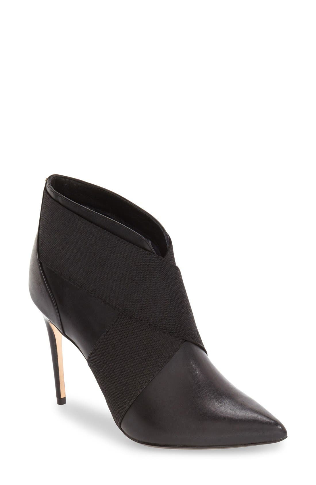Main Image - Ted Baker London 'Lenaus' Pointy Toe Bootie (Women)