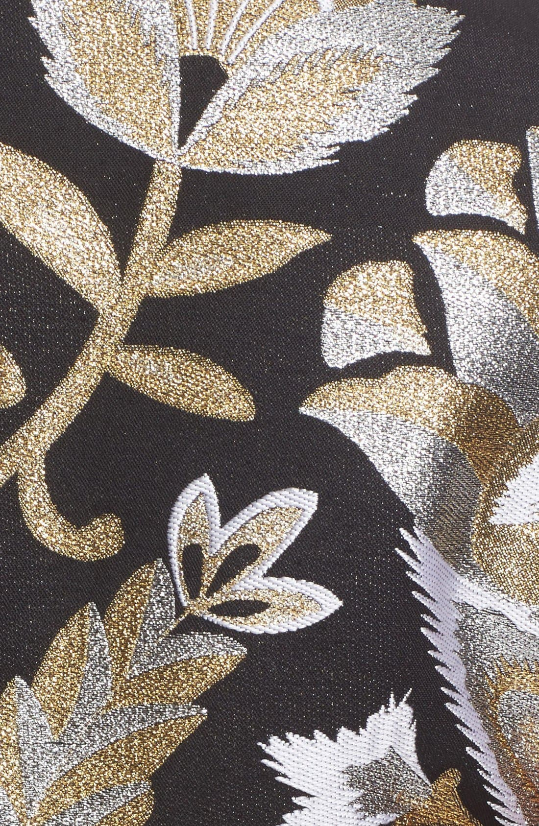 Alternate Image 5  - Ted Baker London Imoen Opulent Orient Jacquard Fit & Flare Dress