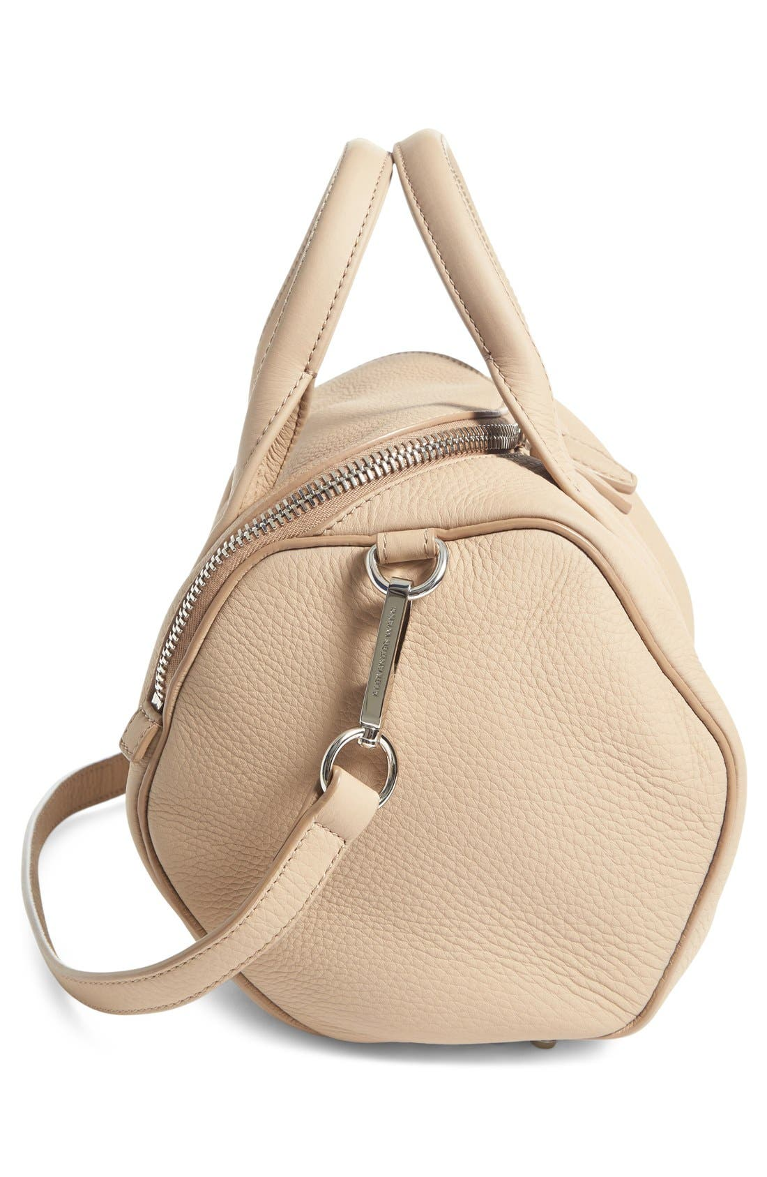 Alternate Image 5  - Alexander Wang Rockie Matte Pebbled Leather Satchel
