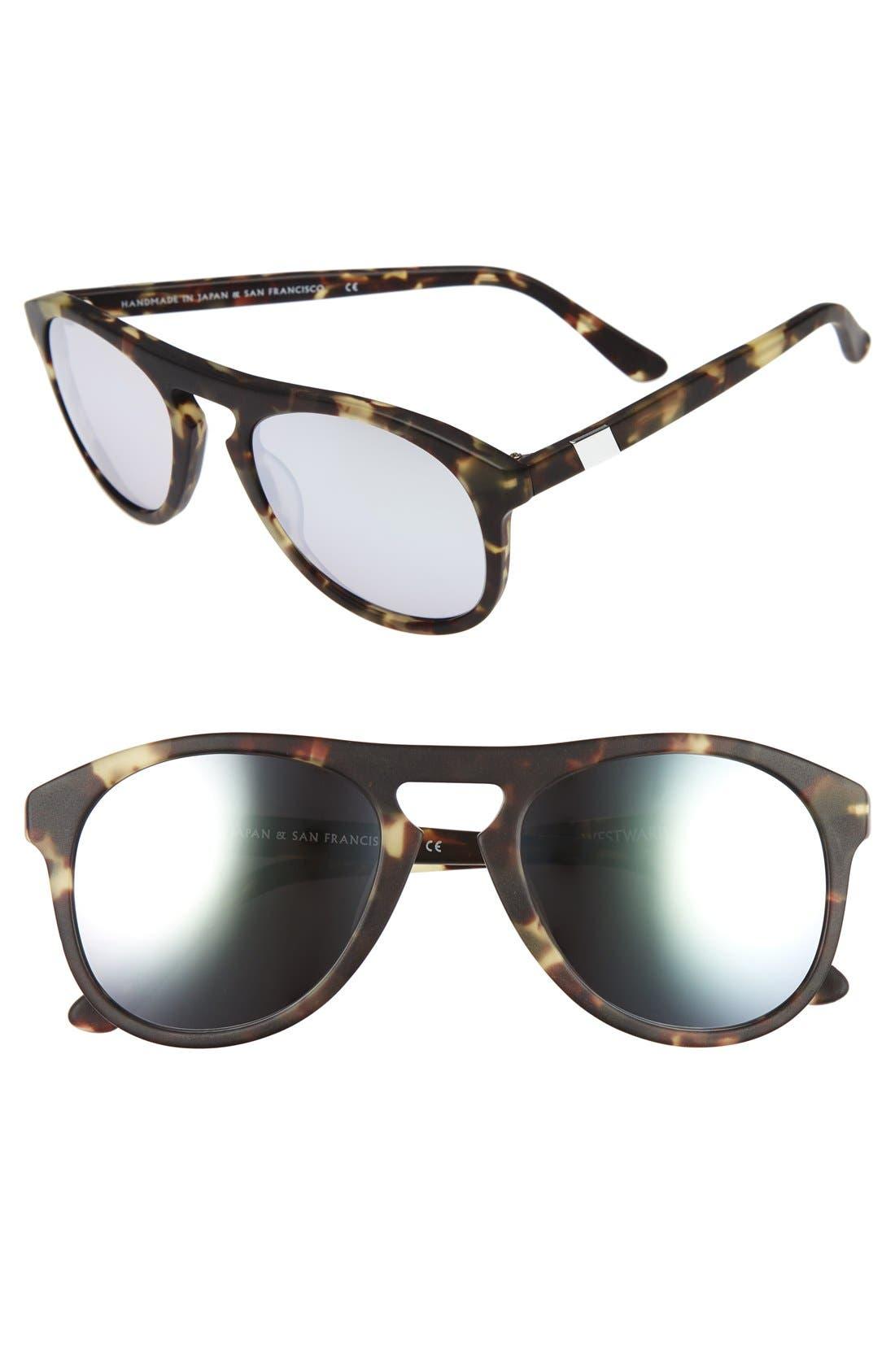 WESTWARD LEANING 'Galileo' 53mm Sunglasses