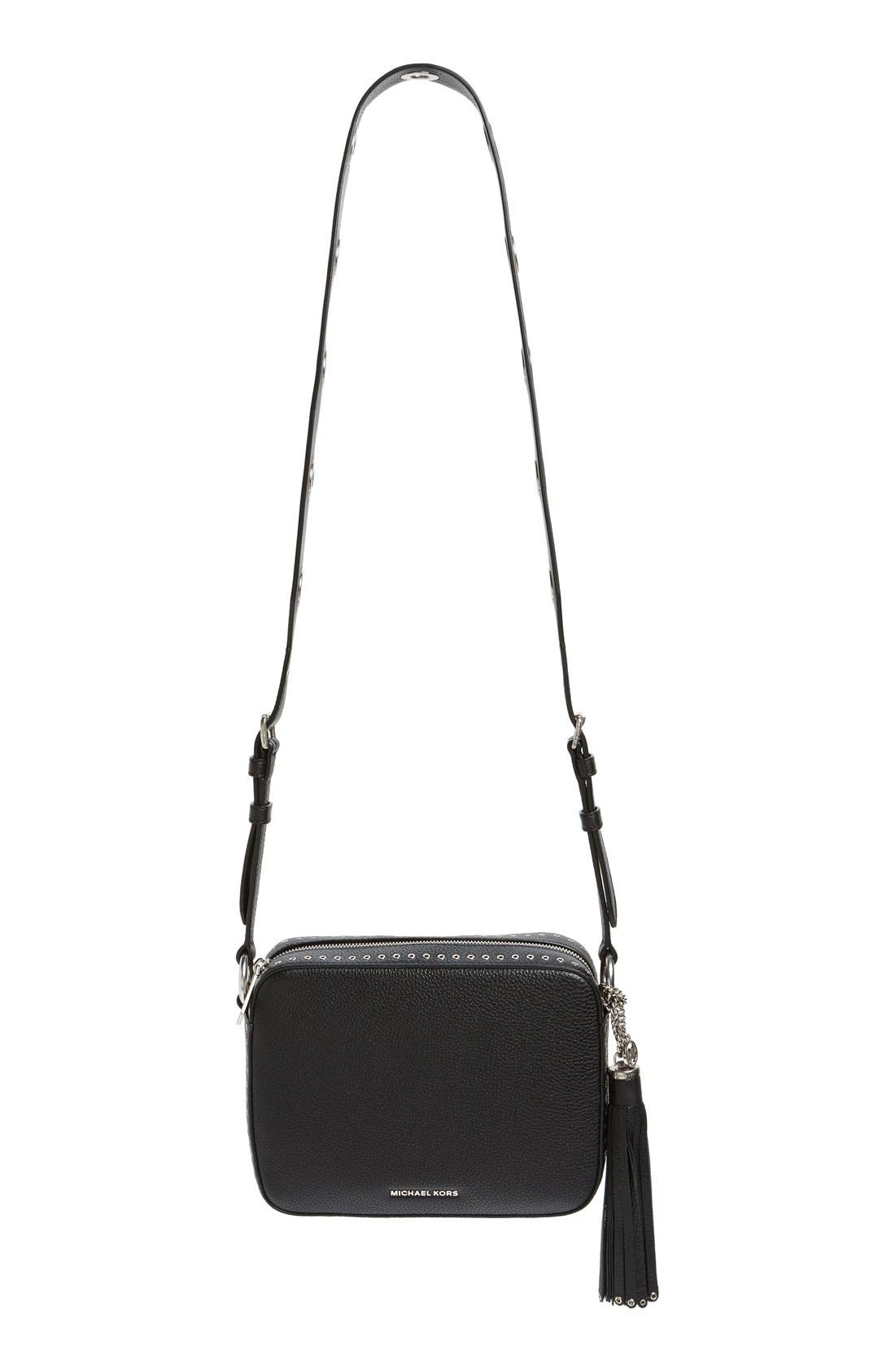 Alternate Image 1 Selected - MICHAEL Michael Kors 'Large Brooklyn' Leather Camera Bag