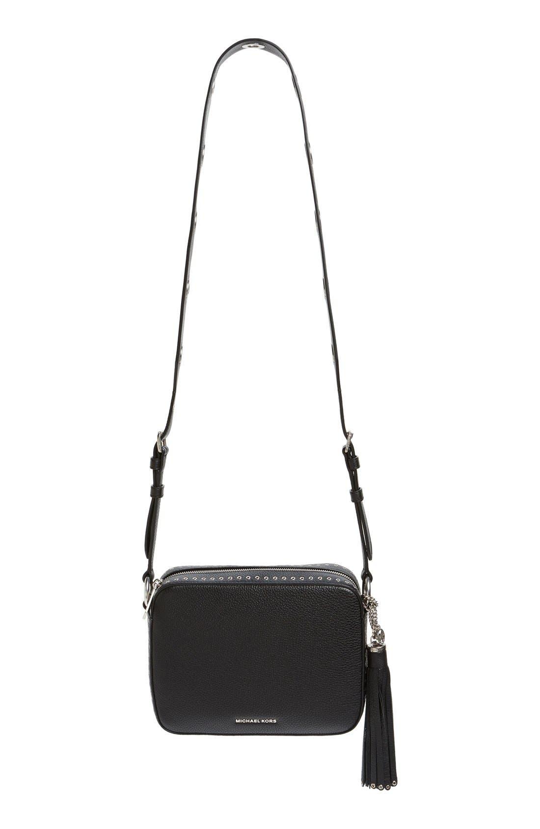 Main Image - MICHAEL Michael Kors 'Large Brooklyn' Leather Camera Bag
