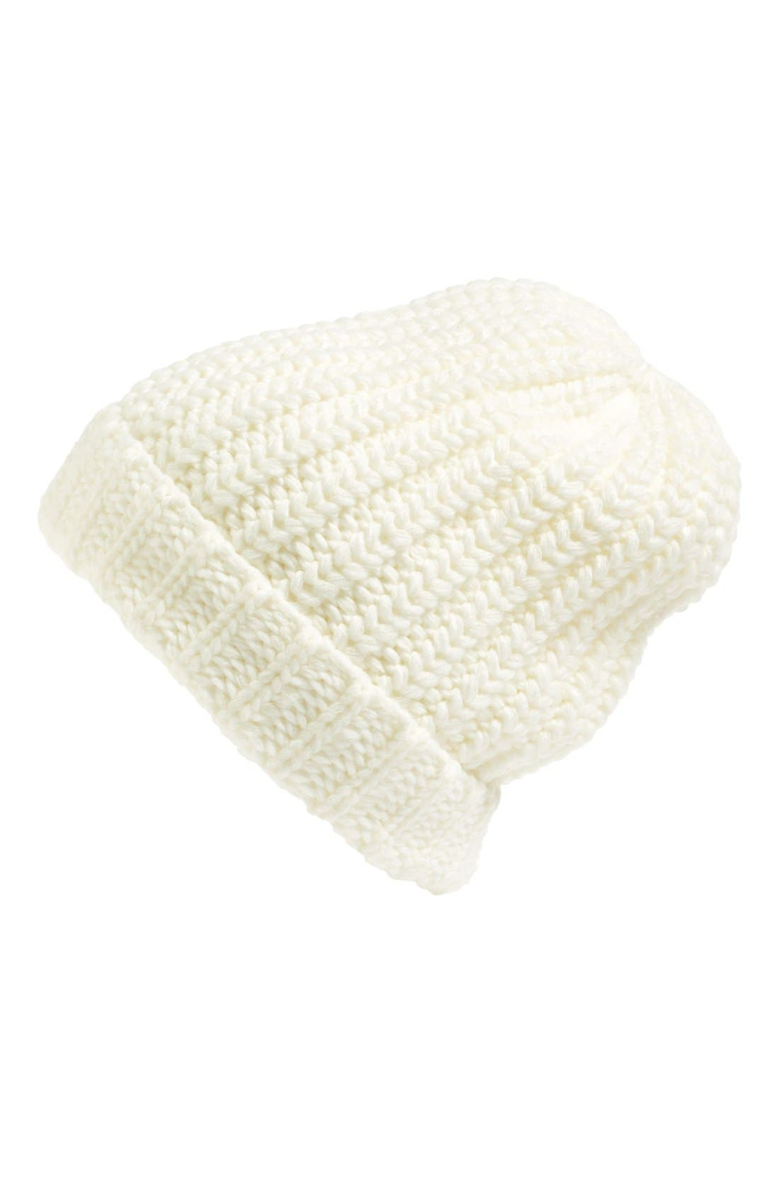 Alternate Image 1 Selected - Hinge Chunky Knit Beanie