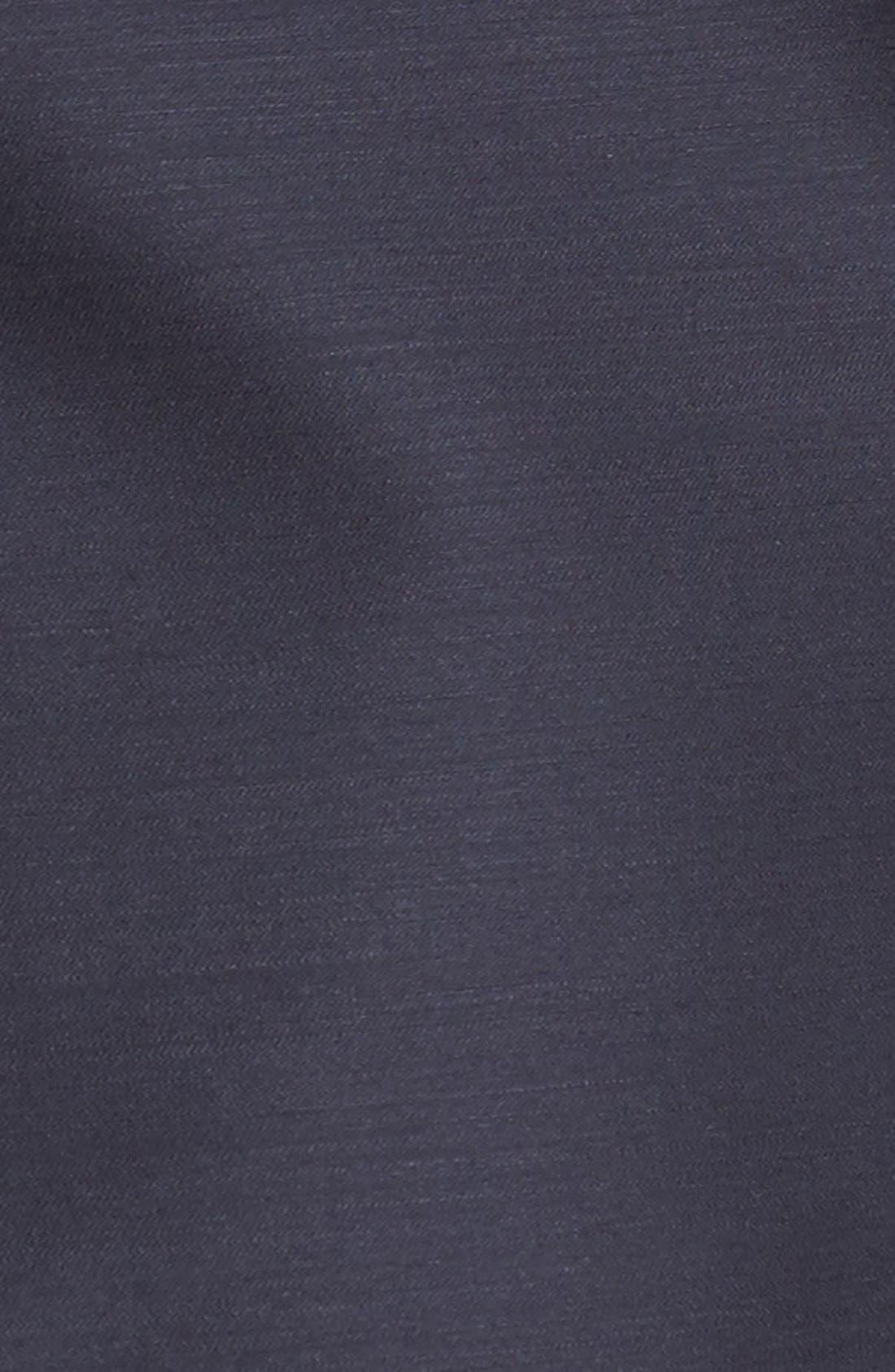 Alternate Image 3  - Nordstrom Signature and Caroline Issa Silk Trim Tuxedo Jacket