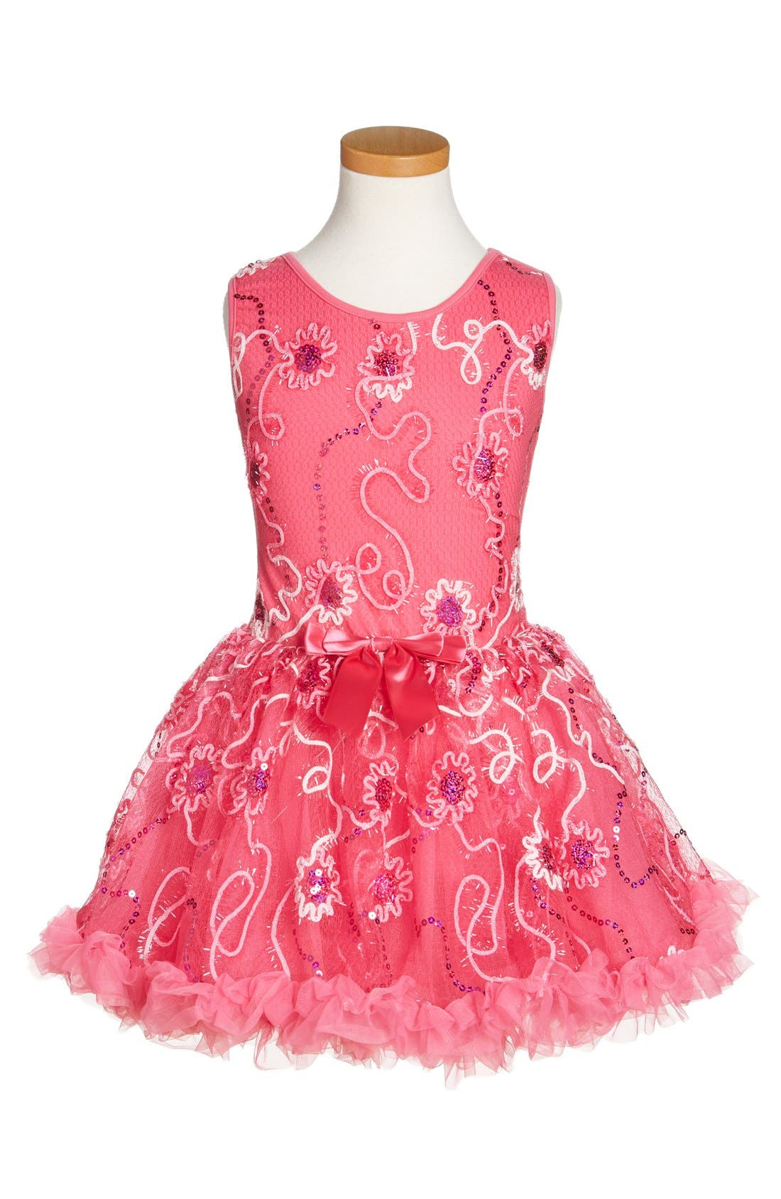 Popatu Sleeveless Sequin Dress (Toddler Girls & Little Girls)