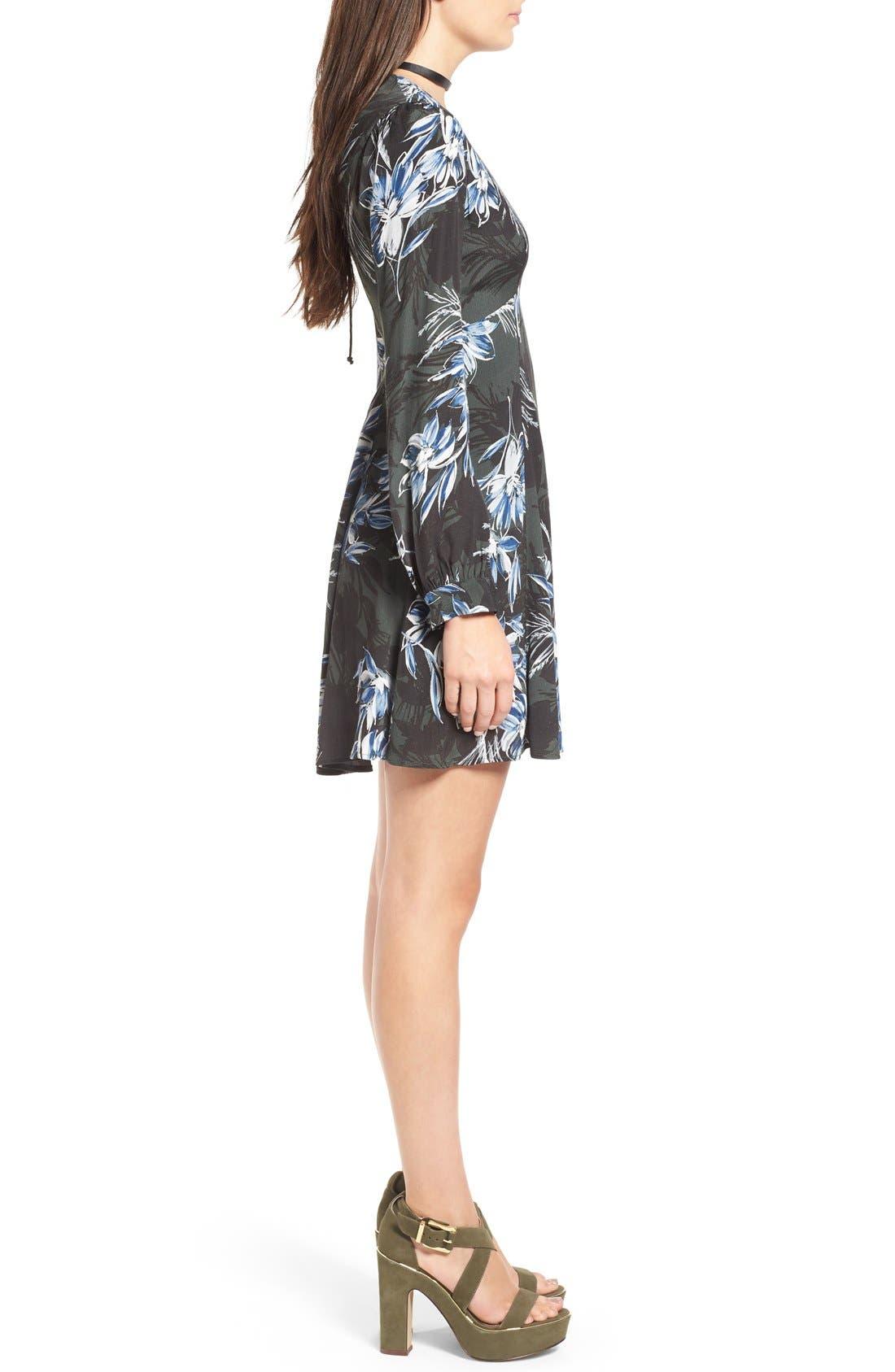 Alternate Image 3  - ASTR 'Mabel' Fit & Flare Dress