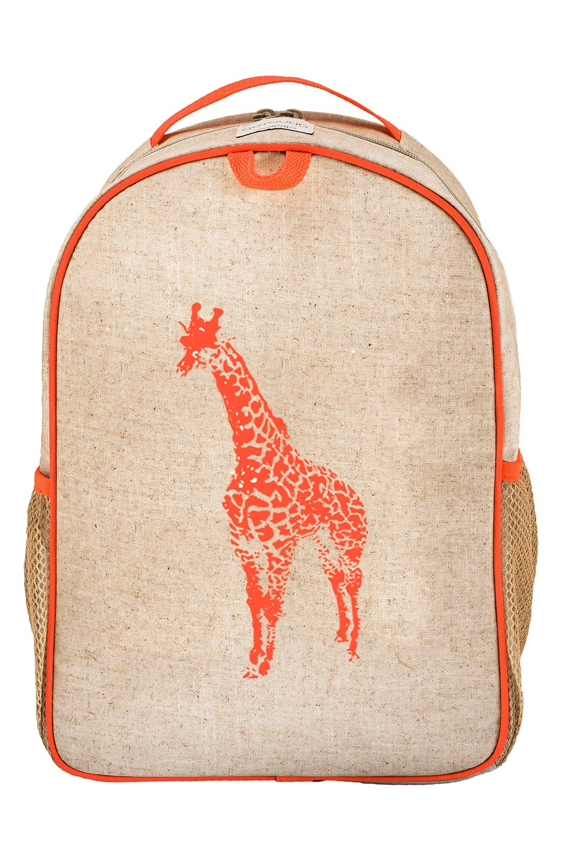 Alternate Image 1 Selected - SoYoung Linen & Cotton Backpack (Kids)