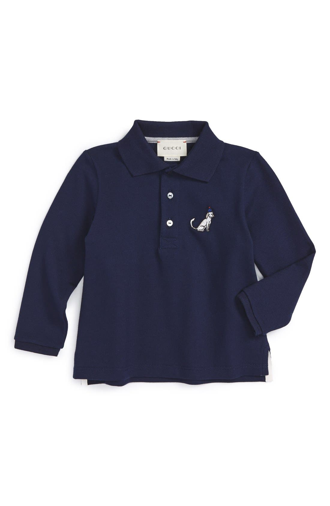 GUCCI KIDSWEAR Gucci Long Sleeve Polo