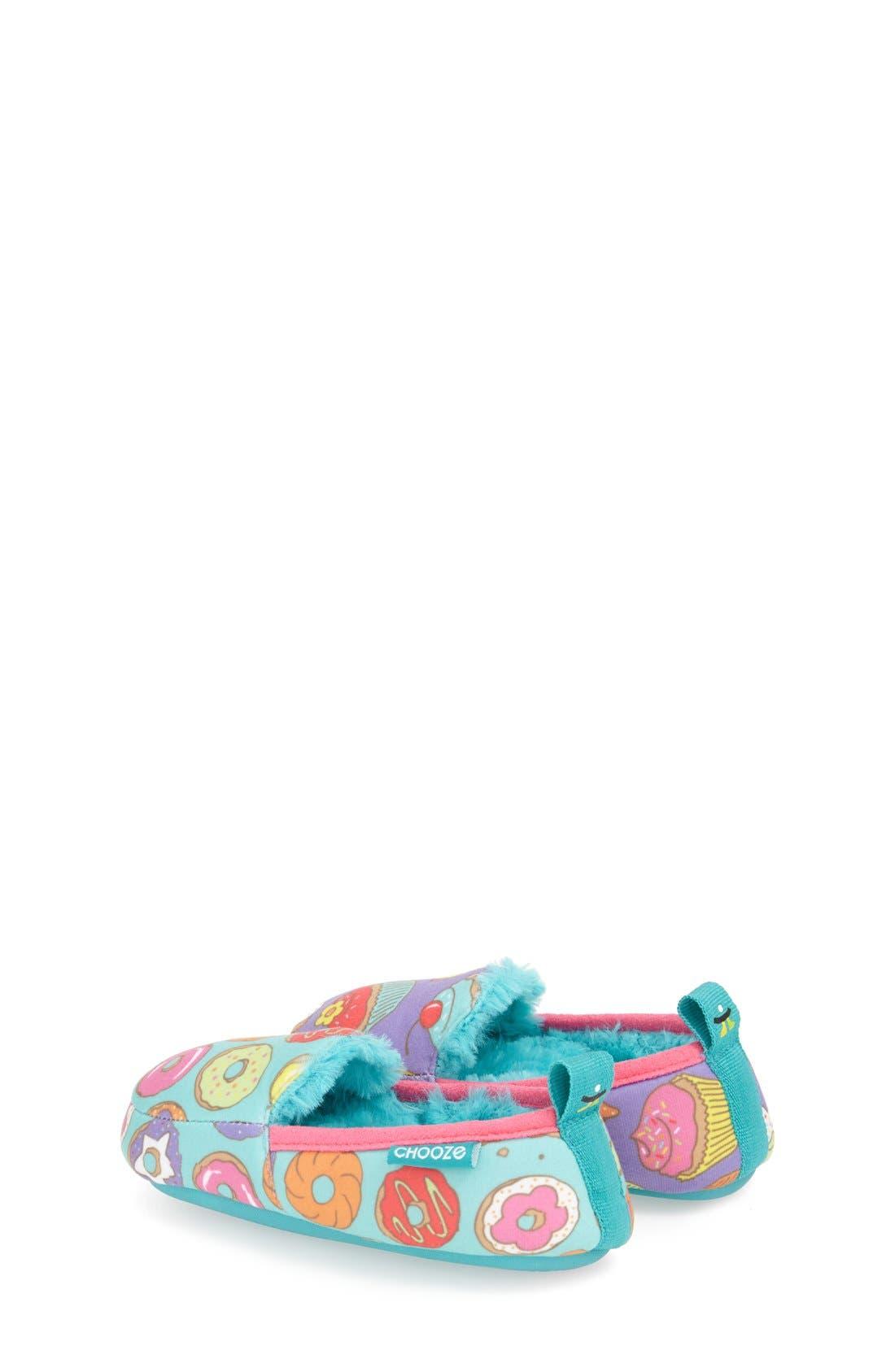 Alternate Image 2  - CHOOZE 'Slumber' Slippers (Toddler, Little Kid & Big Kid)