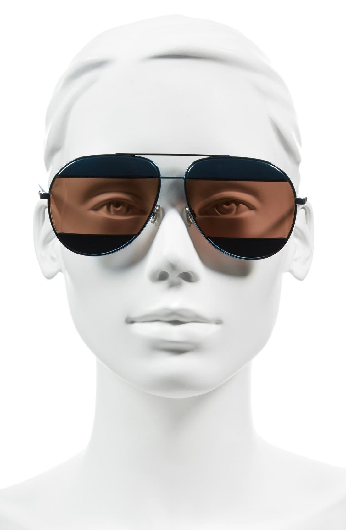 Alternate Image 2  - Dior Split 59mm Aviator Sunglasses