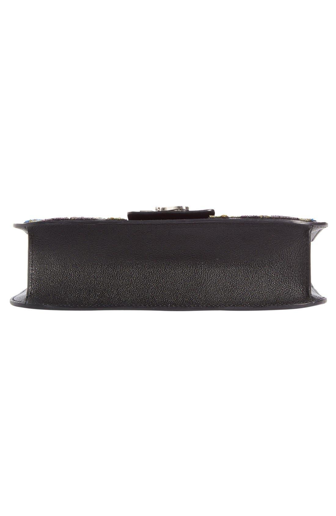 Alternate Image 6  - Alexander McQueen Medium Insignia Calfskin Leather Shoulder Bag