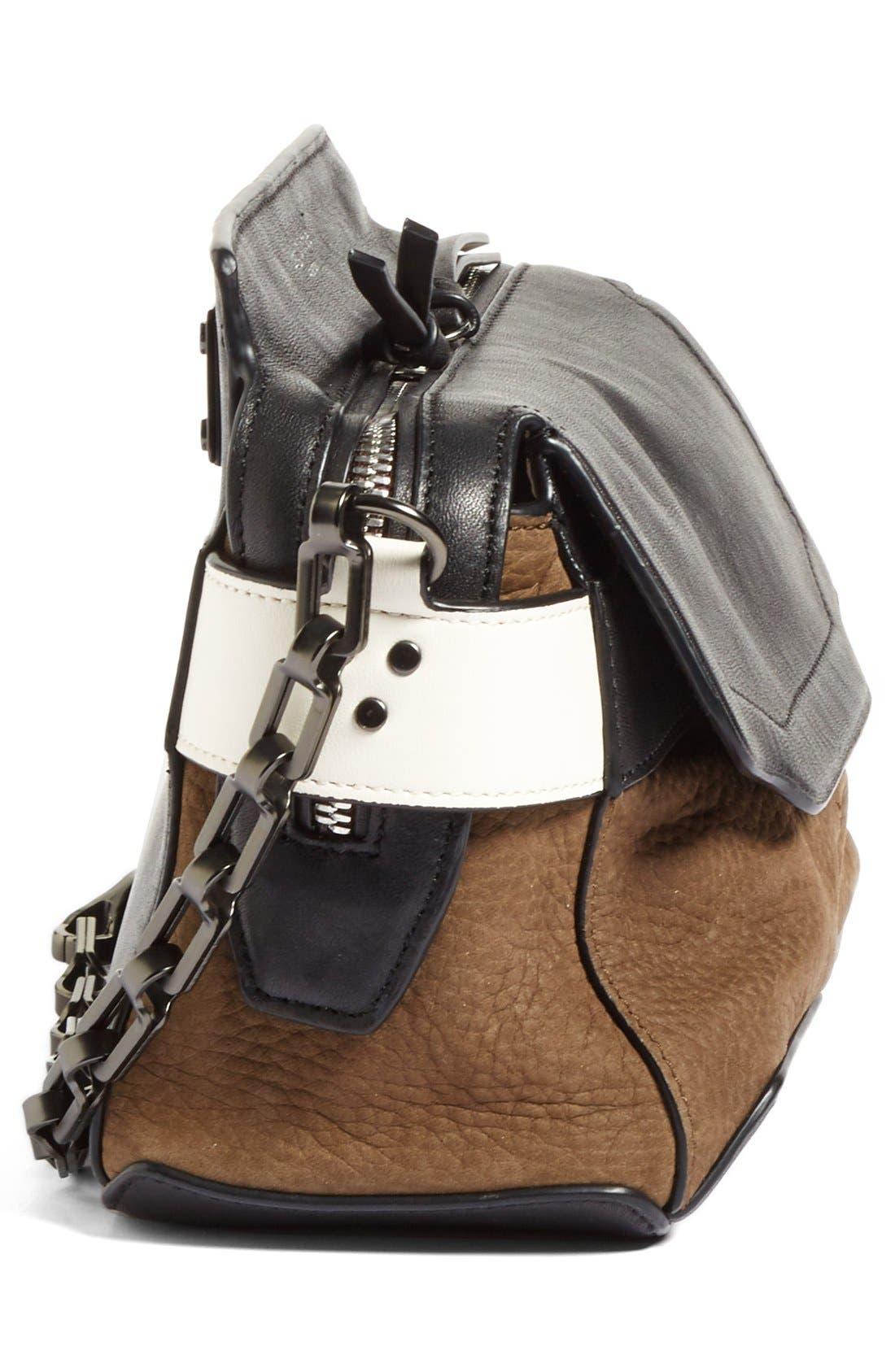 Alternate Image 4  - rag & bone Micro Pilot Nubuck Leather Satchel