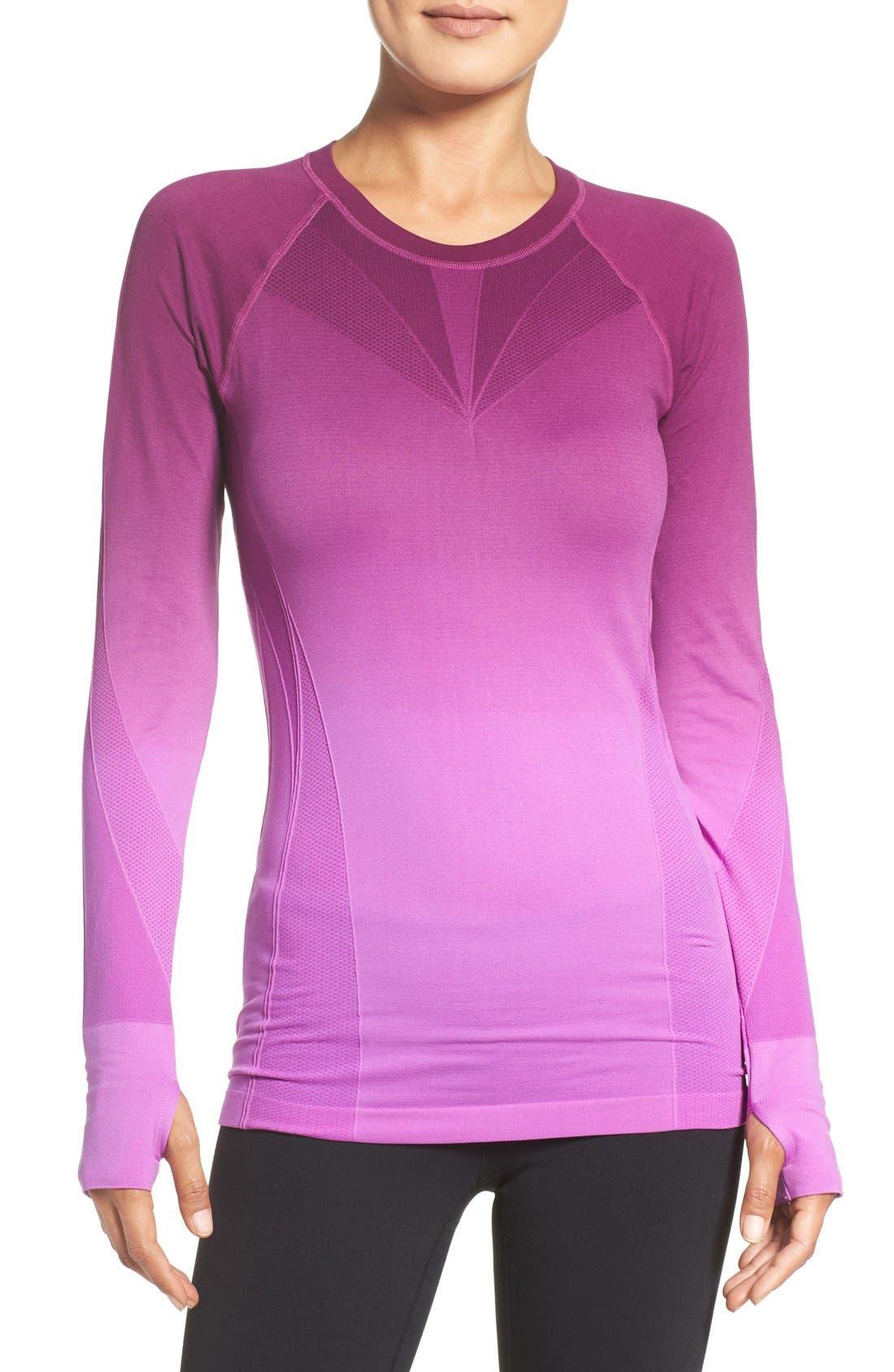 Climawear Dip Dye Long Sleeve Top