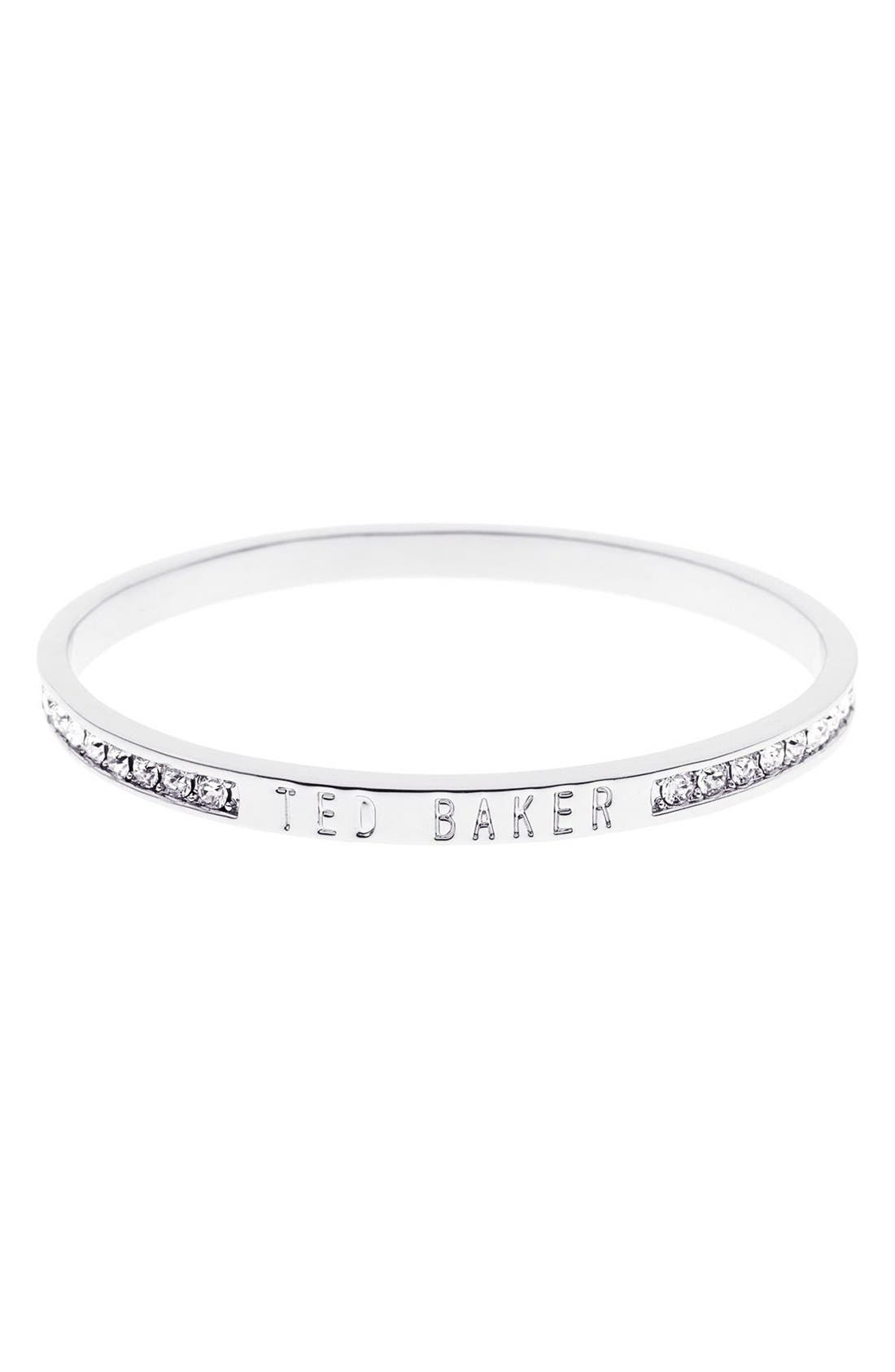 Ted Baker London 'Clem' Narrow Crystal Bangle