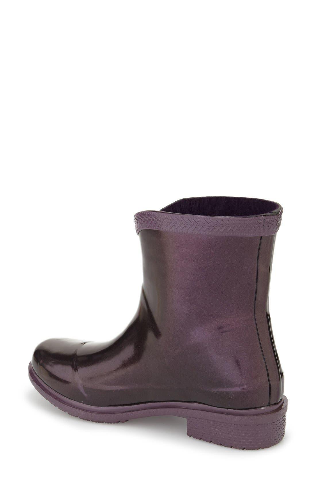 Alternate Image 2  - Havaianas 'Galochas Low Metallic' Waterproof Rain Boot (Women)