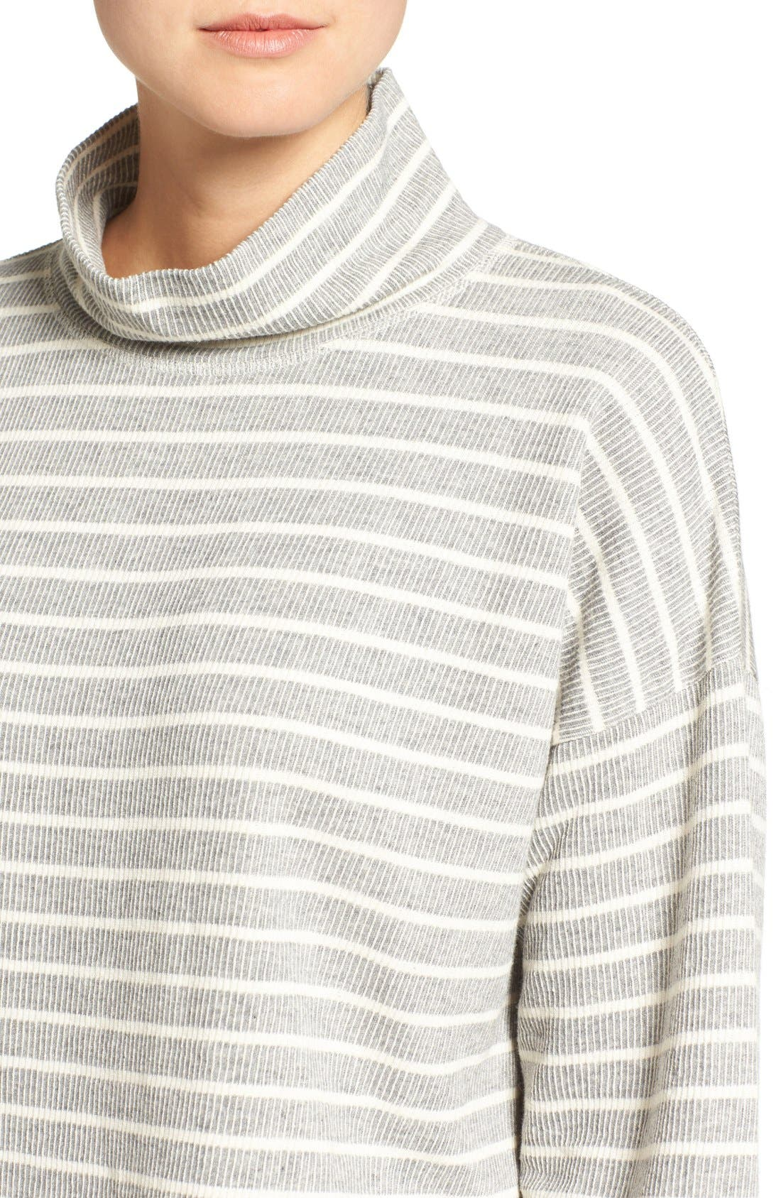 Alternate Image 4  - Madewell Note Funnel Neck Pullover